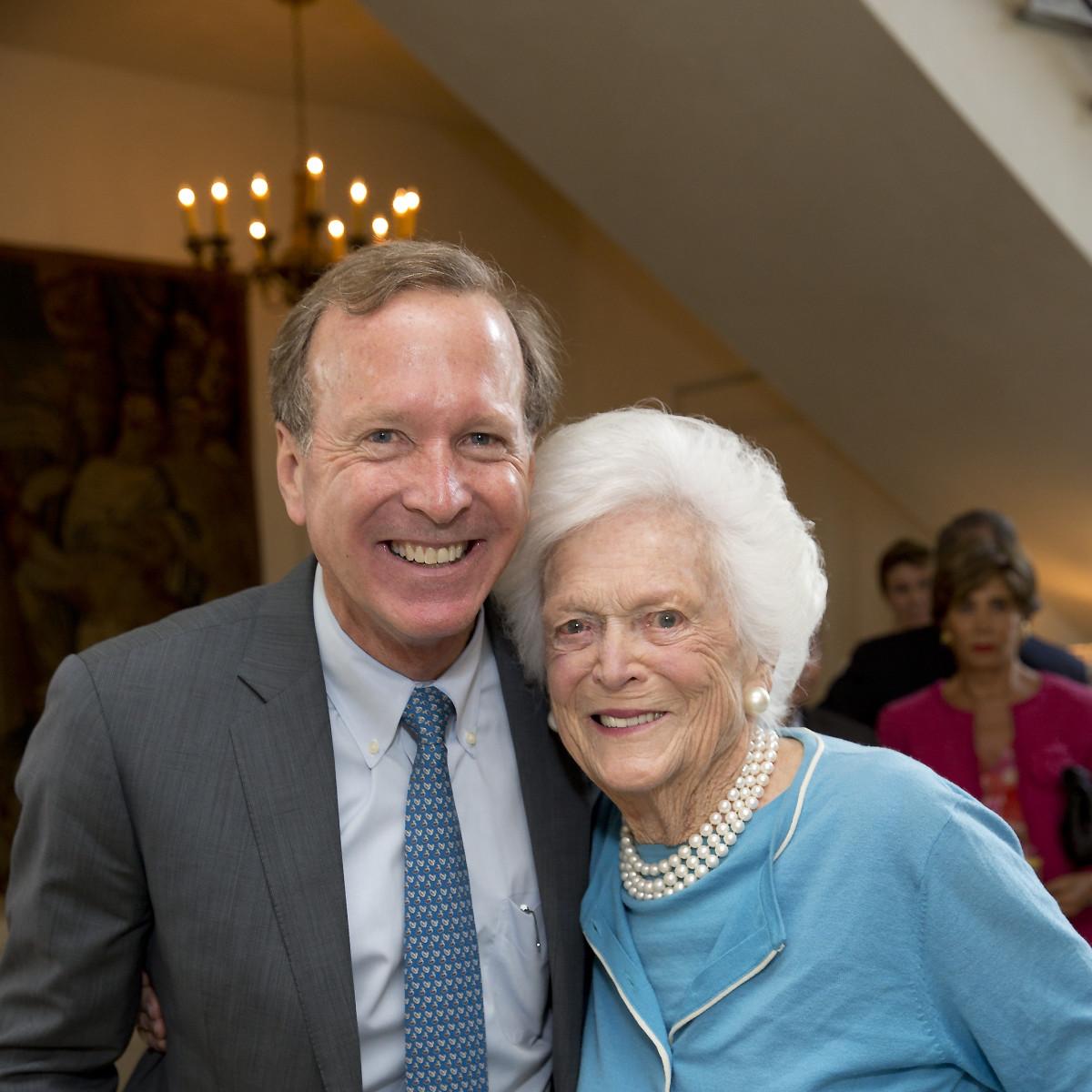 Neal Bush, Barbara Bush