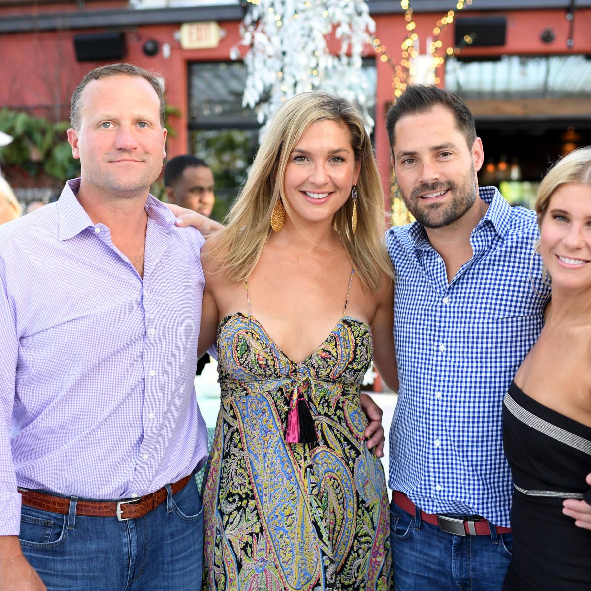 Houston, B&B Butchers & Restaurant Partini with Amschwand Sarcoma Cancer, June 2017, Josh Oren, Lisa Oren, Jay Fields, Allie Fields