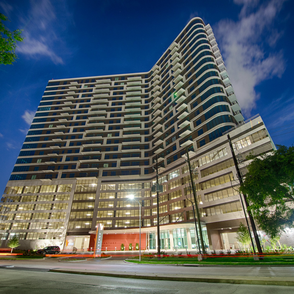 Houston Vantage Med Center apartments