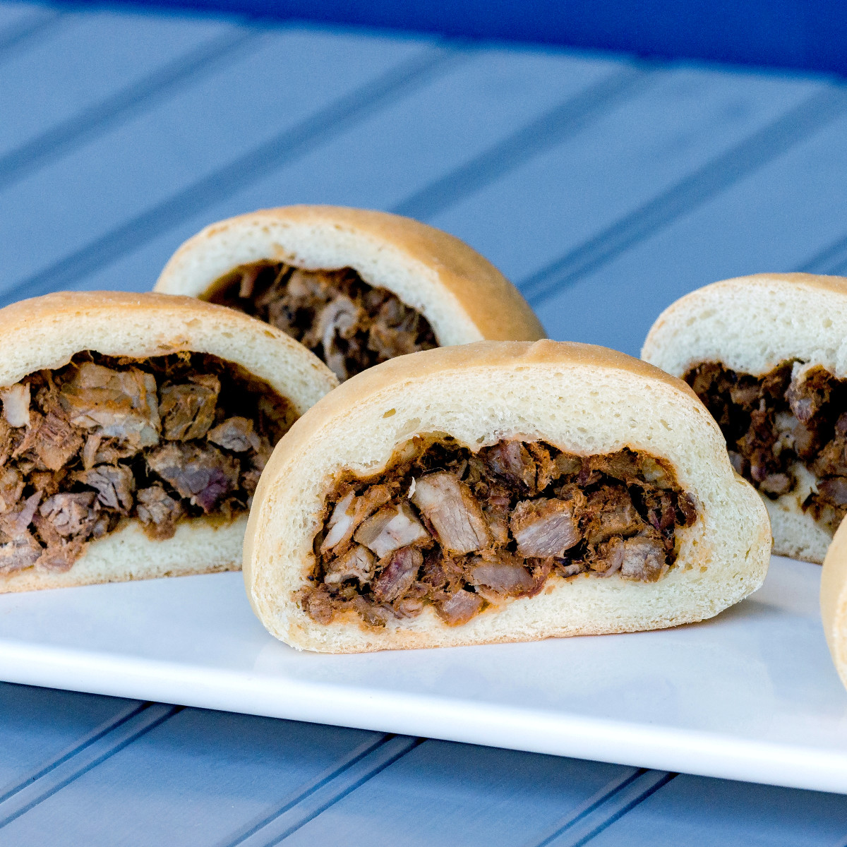 Houston, Kolache Shoppe The Heights, June 2017, brisket kolaches