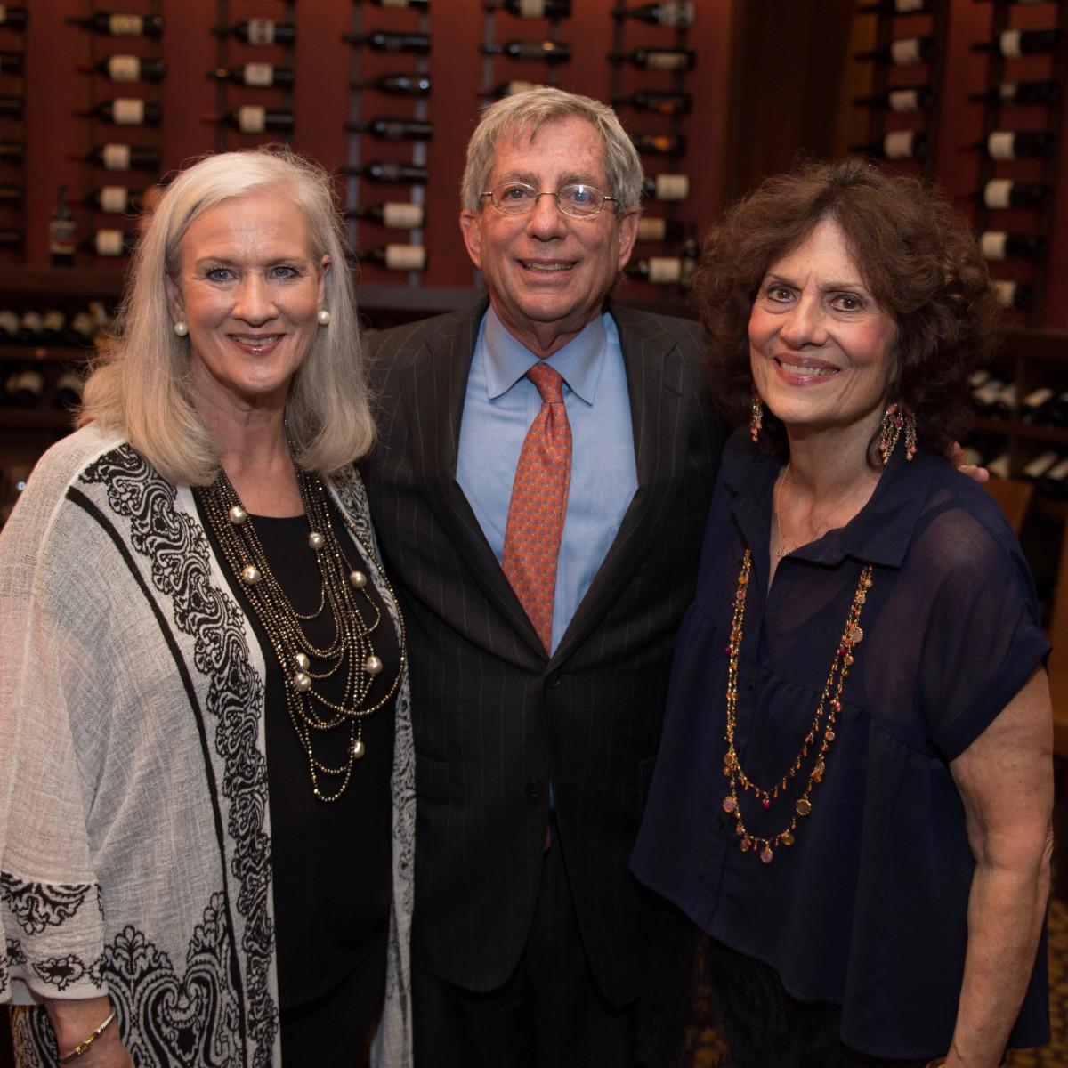 Holocaust Museum Houston Unveiling Event; Debbye Crofoot-Morley, Fred Zeidman, Donna Vallone