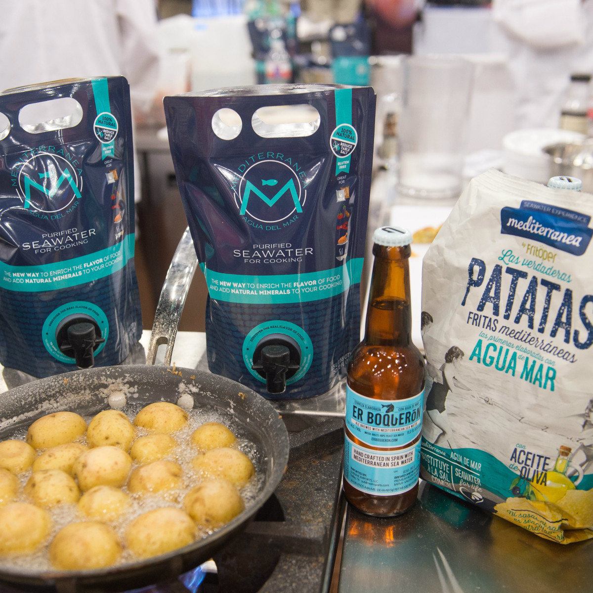Cooking ingredients at TRA Marketplace 2016