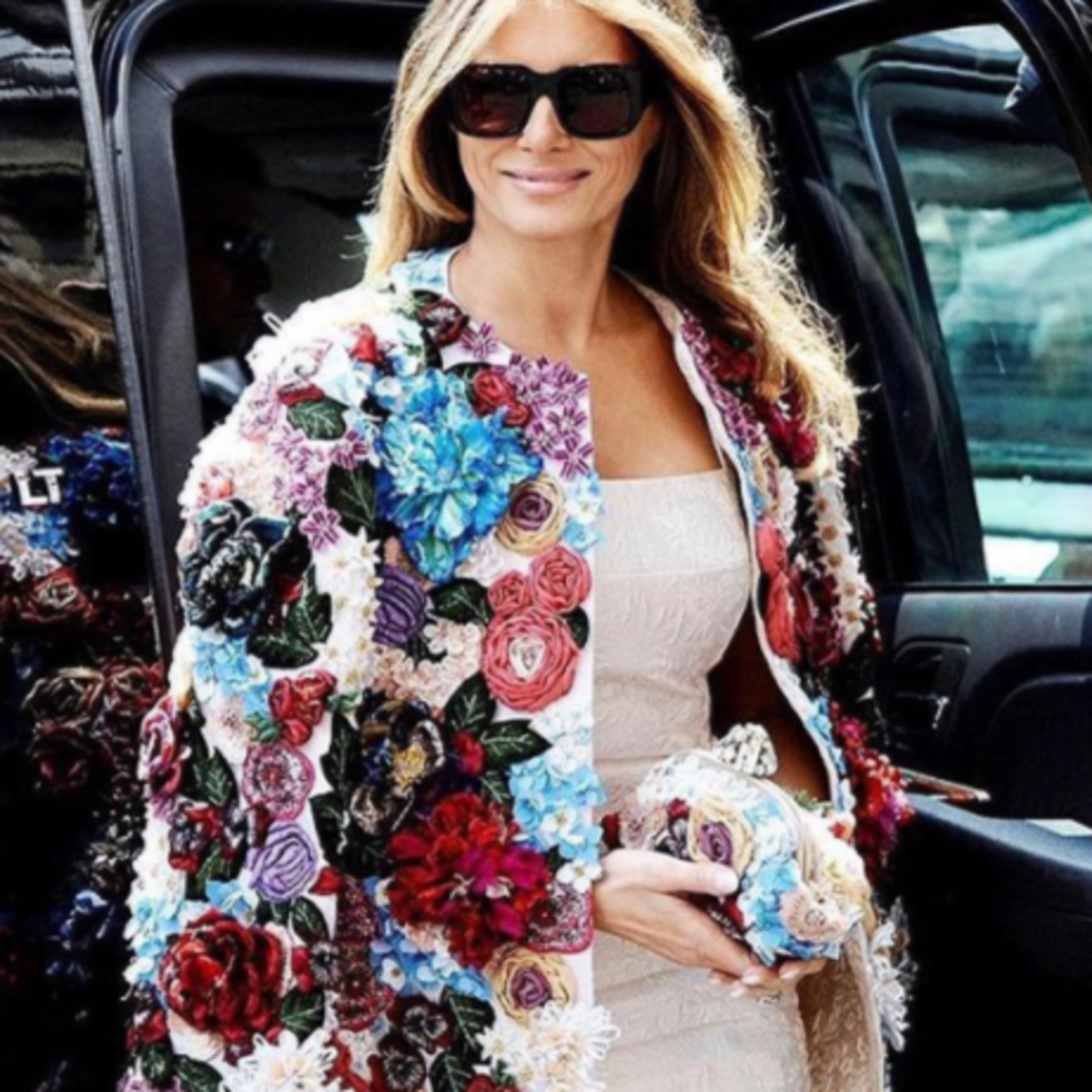 Melania Trump in Dolce & Gabbana jacket