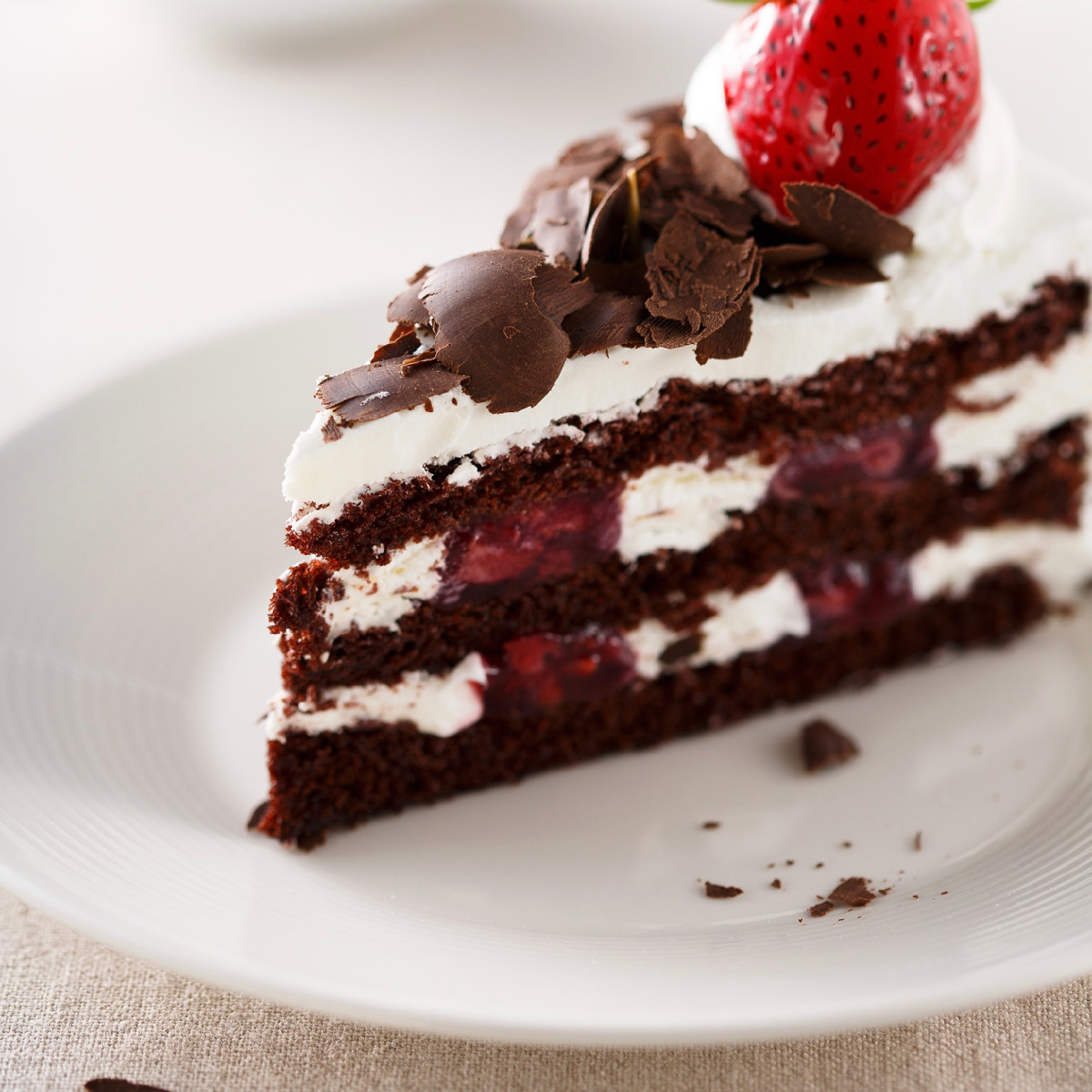 85C Bakery Cafe black forest cake