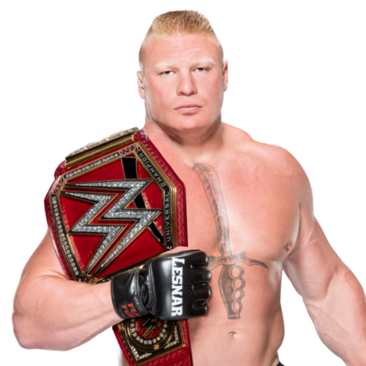 WWE wrestler Brock Lesnar
