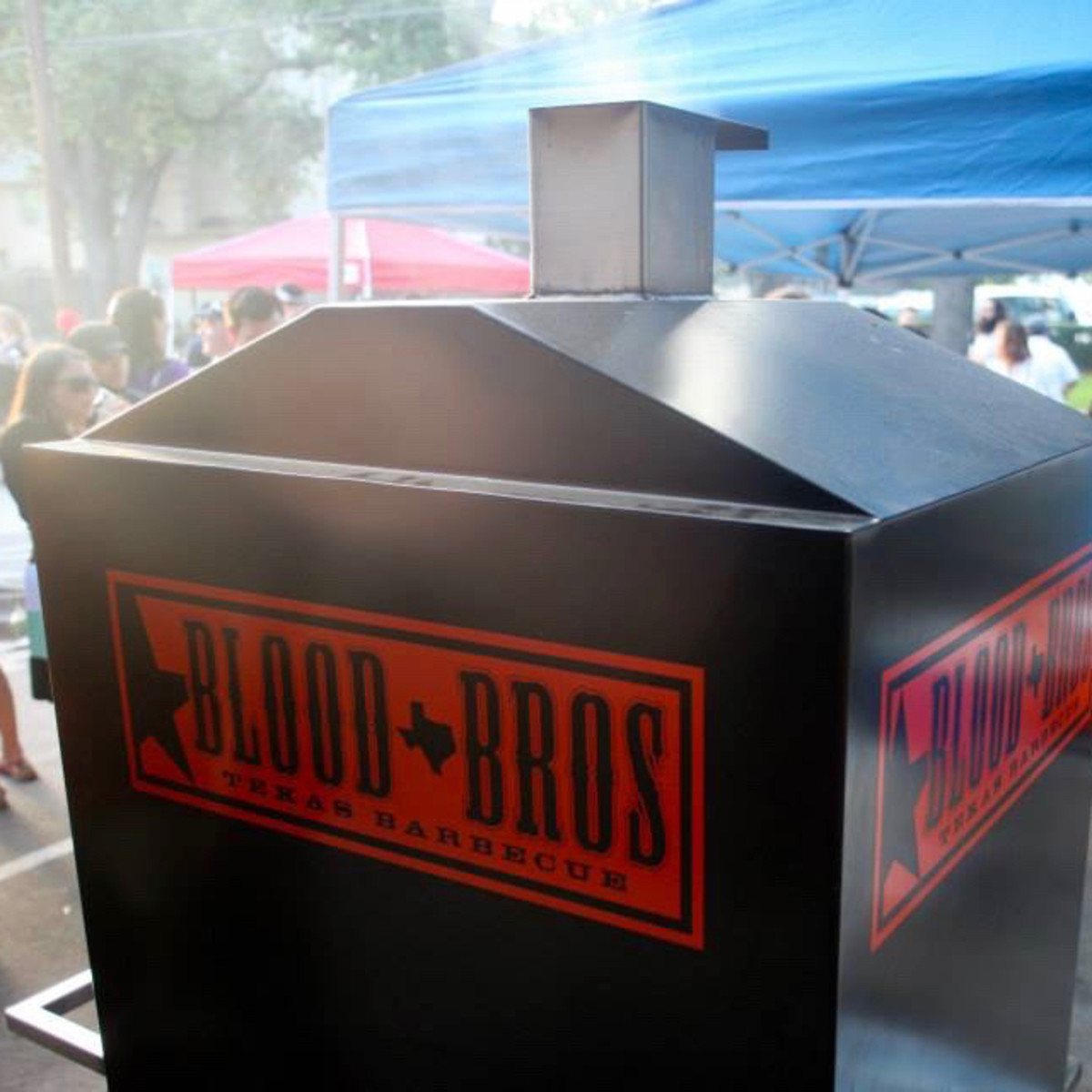 Blood Bros. BBQ smoker