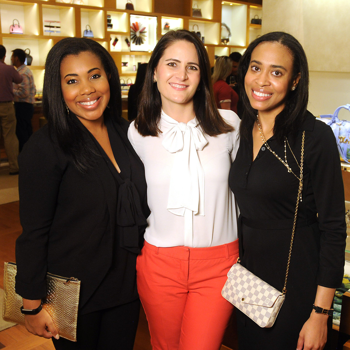 Houston, Louis Vuitton Tambour Horizon launch party, July 2017, Ashley Seals, Holly Grice, Hannah Thibodeaux