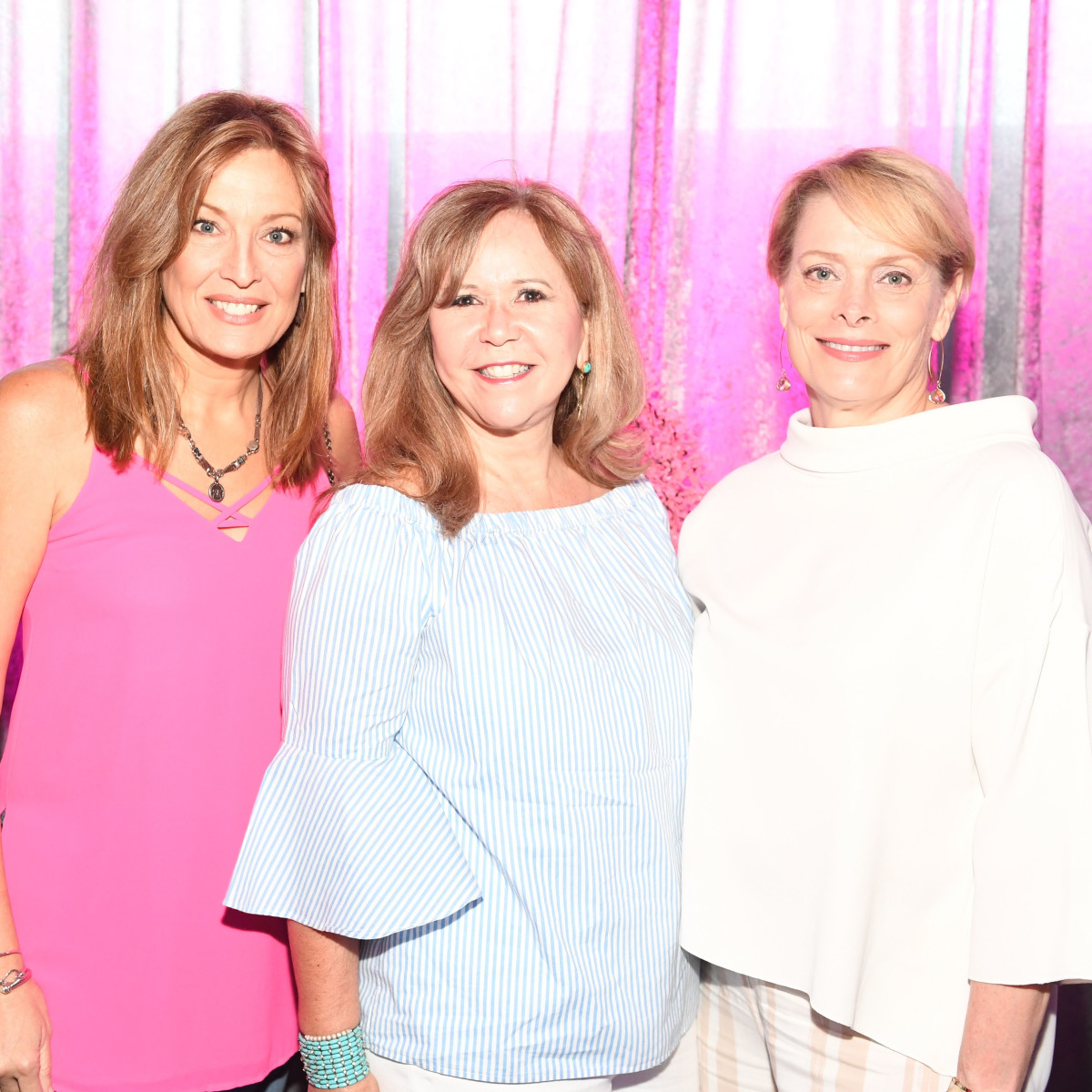Belinda Rowell,Cyndy Garza-Roberts, Diane Frels at Mint Julep 2017