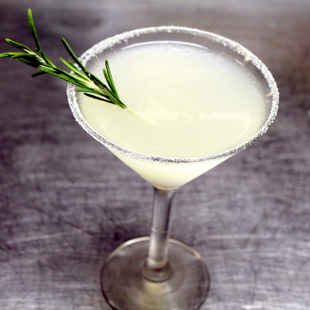 Houston, Damian's Cucina Italiana, Rosemary Lemon Drop, August 2017