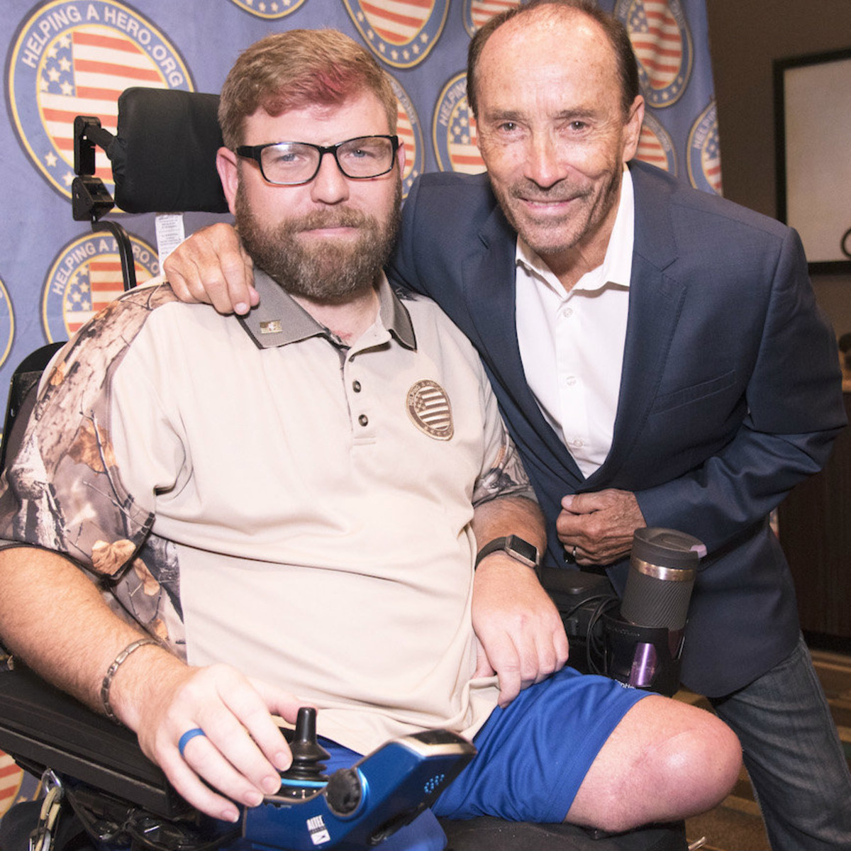 SSG Ed Matayka, Lee Greenwood