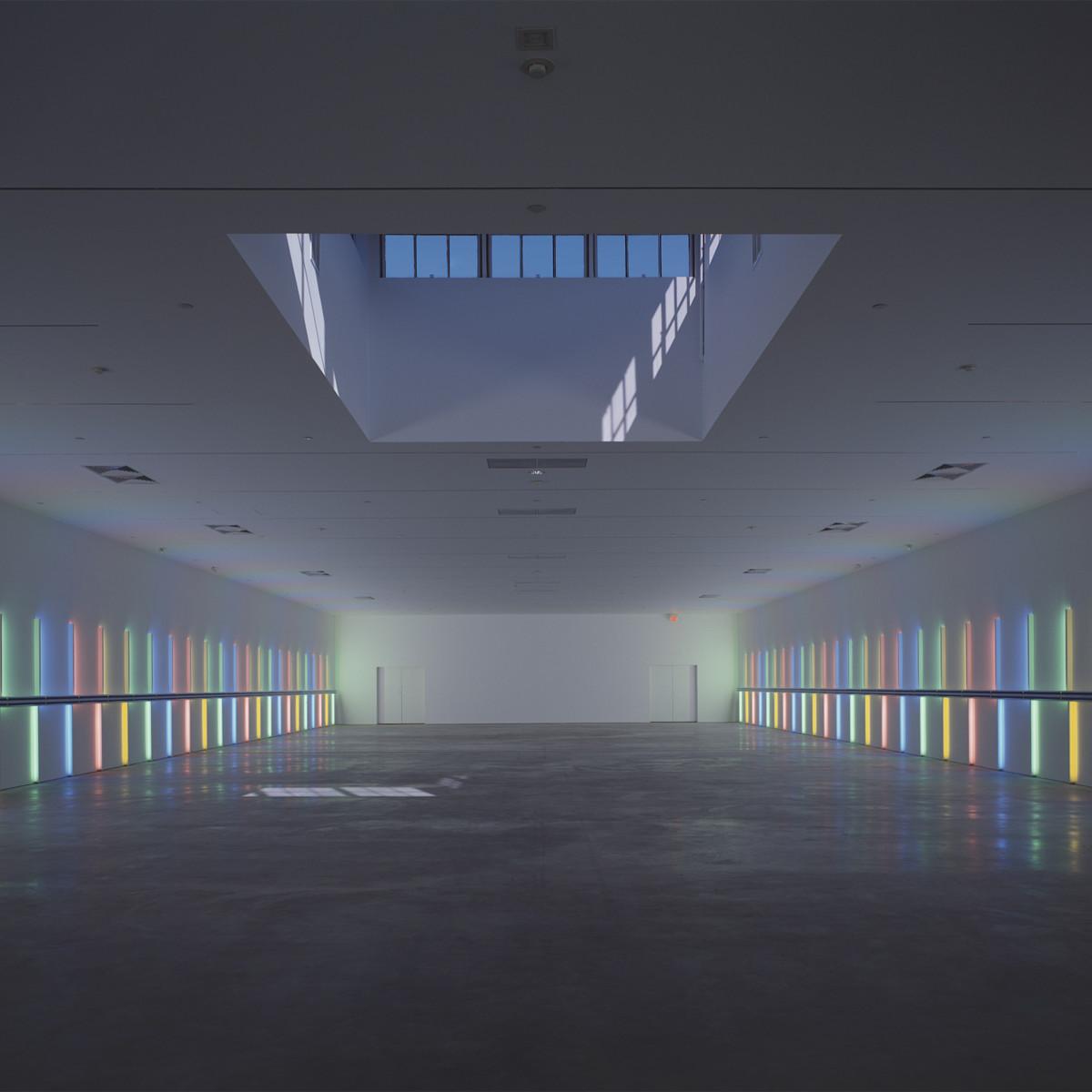 Menil Collection: Dan Flavin, untitled