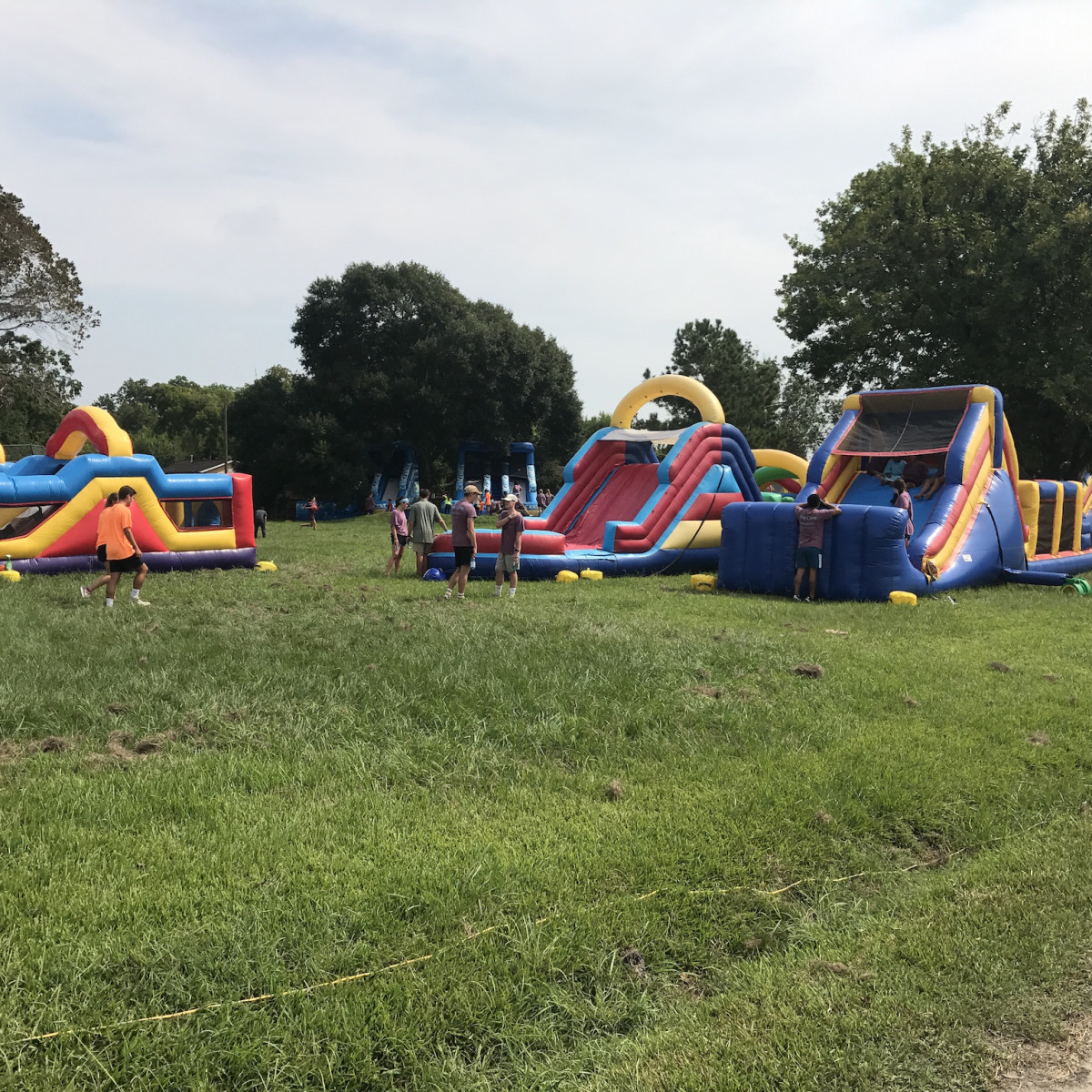 Pine Cove inflatable toys