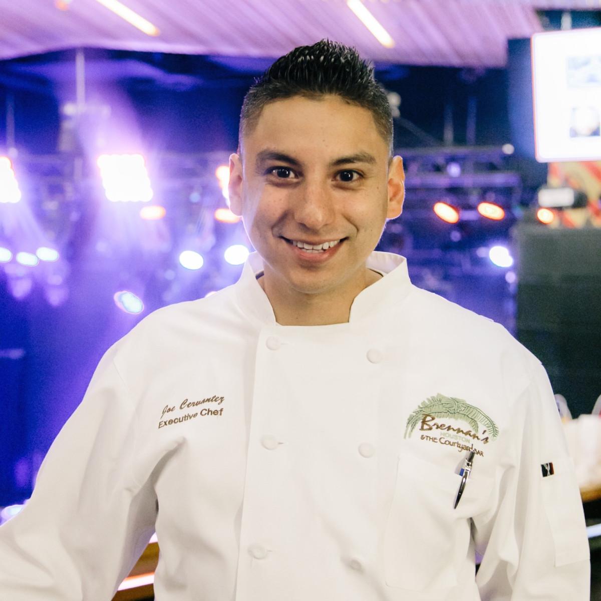 Camp for All Culinary Challenge Joe Cervantez Brennan's