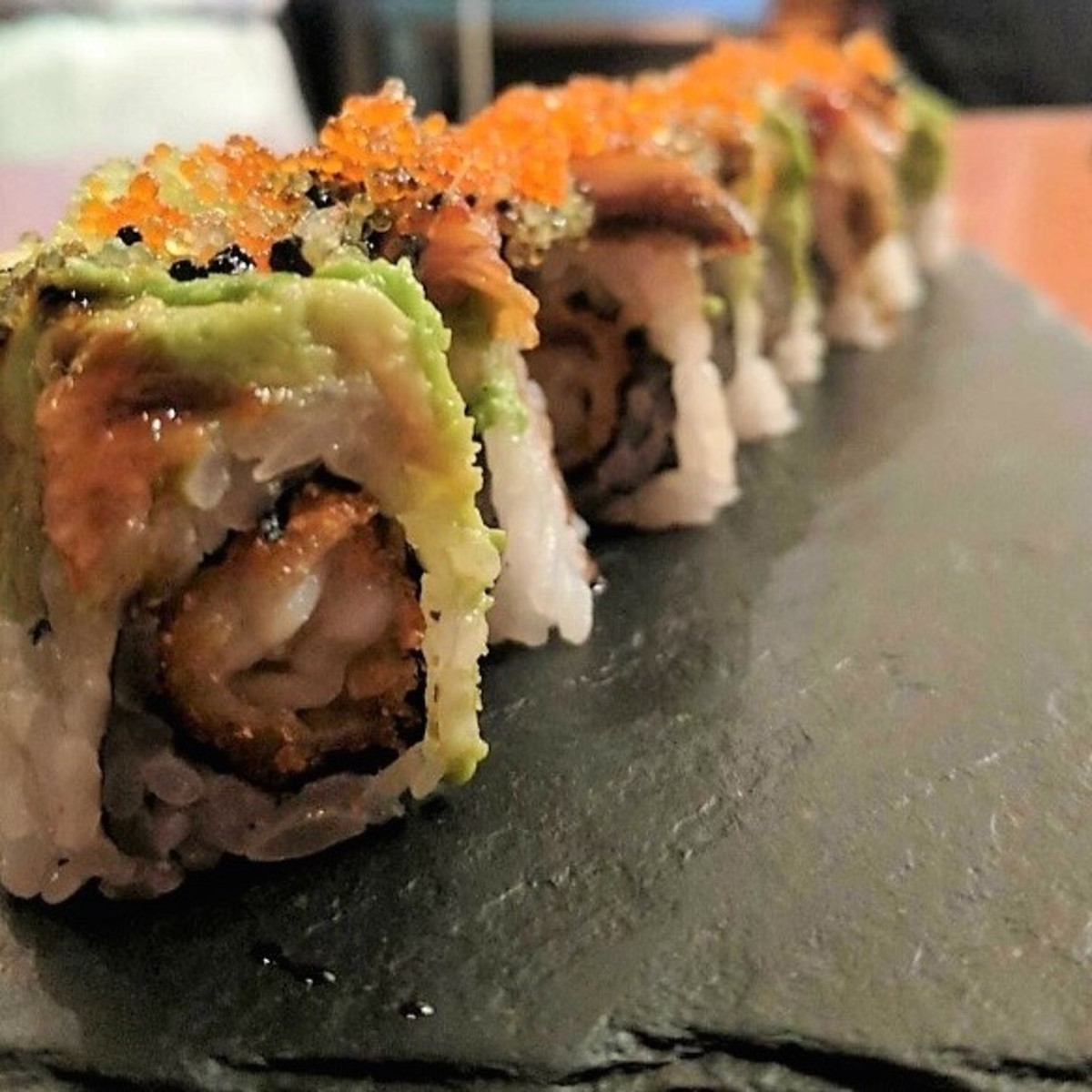 Kata Robata longhorn roll