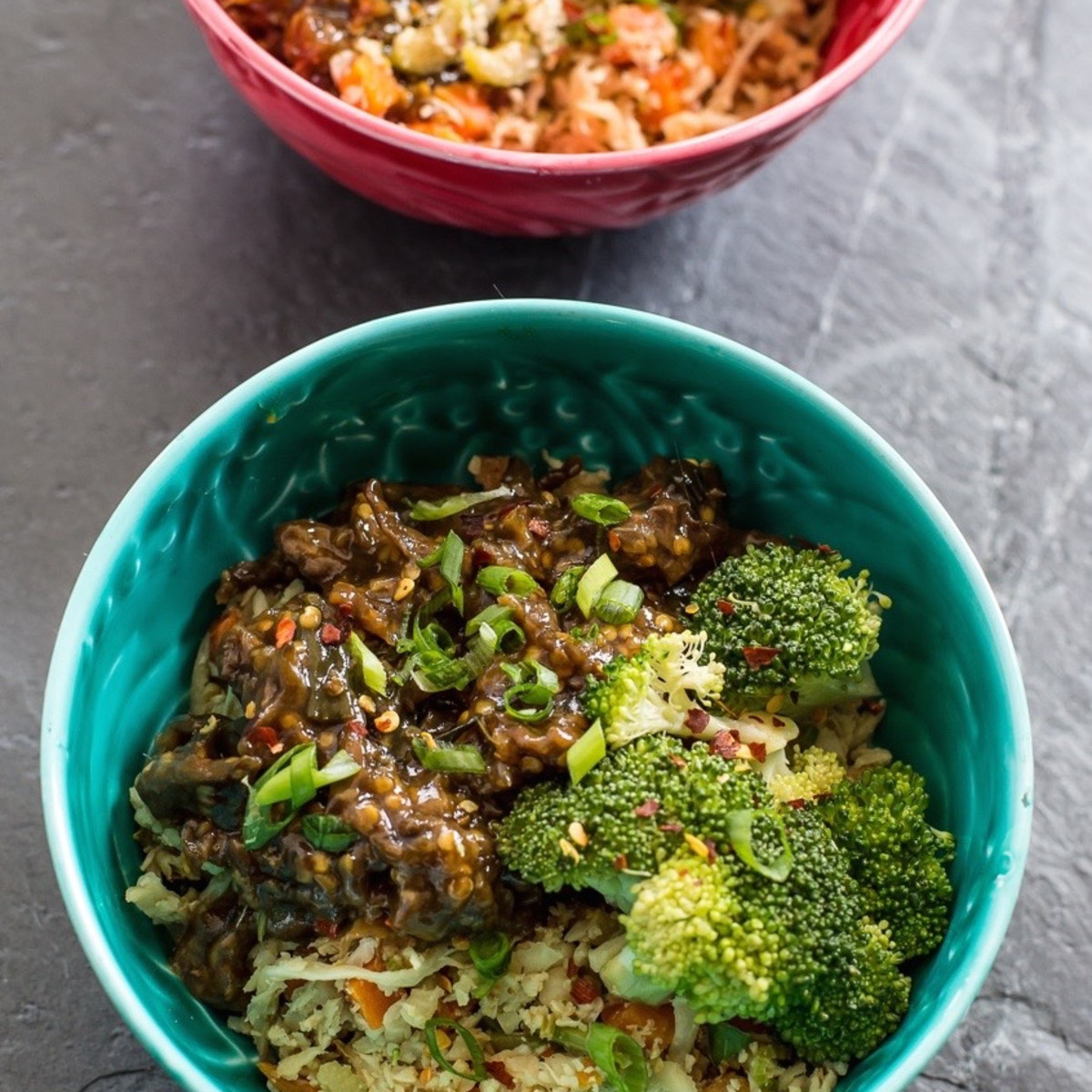 Juiceland chow fun veggie bowl