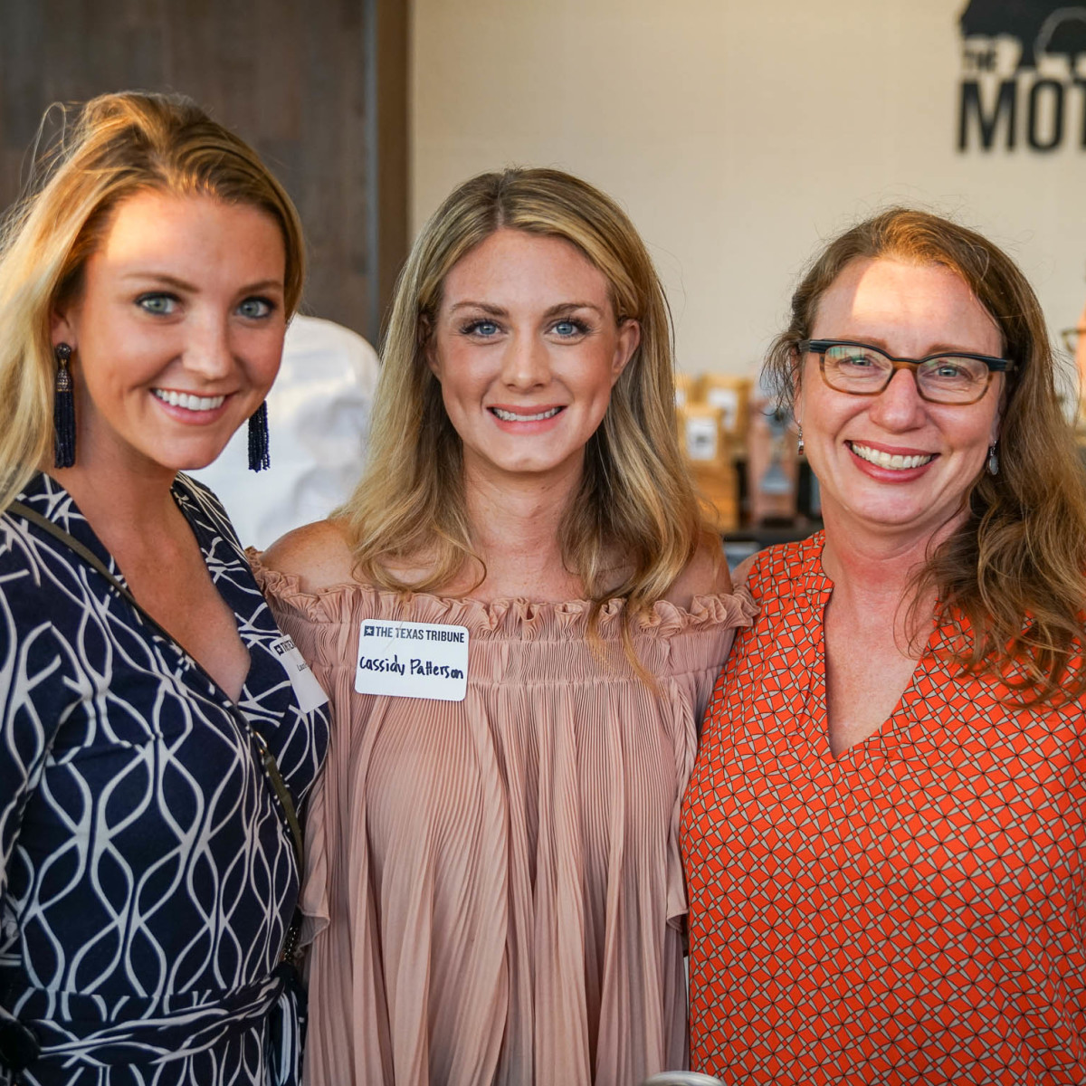 Texas Tribune Festival 2017 BBQ Feast at Google Laura Petterson Cassidy Petterson Kristin Chiles