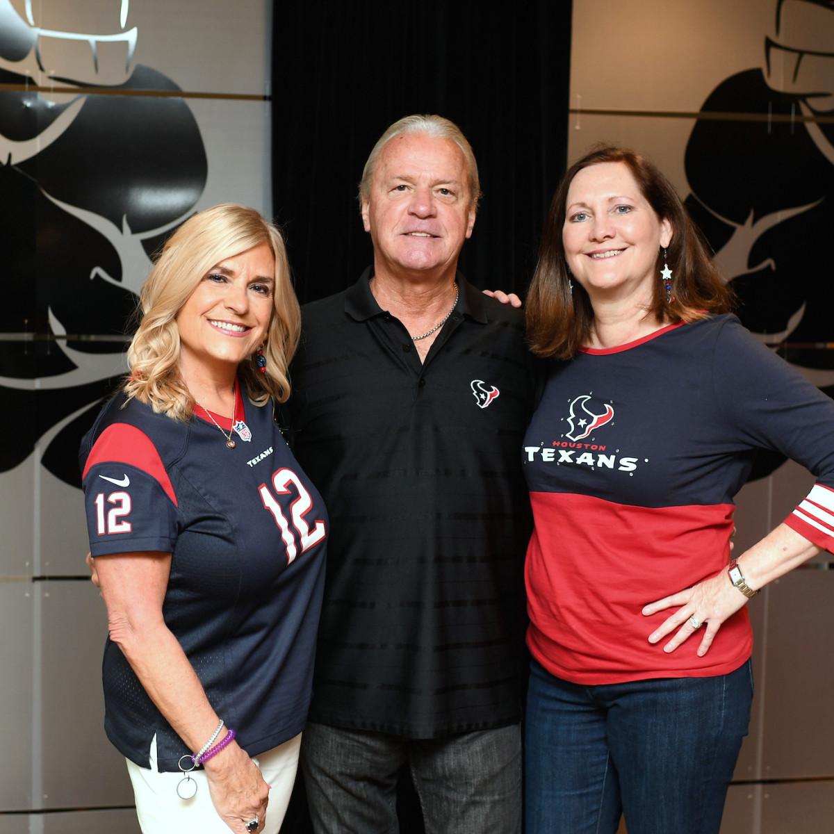 Houston, Boys and Girls Harbor Fantasy Football Draft Night, Vicki Lehner, Bill Lehner, Diane Englet
