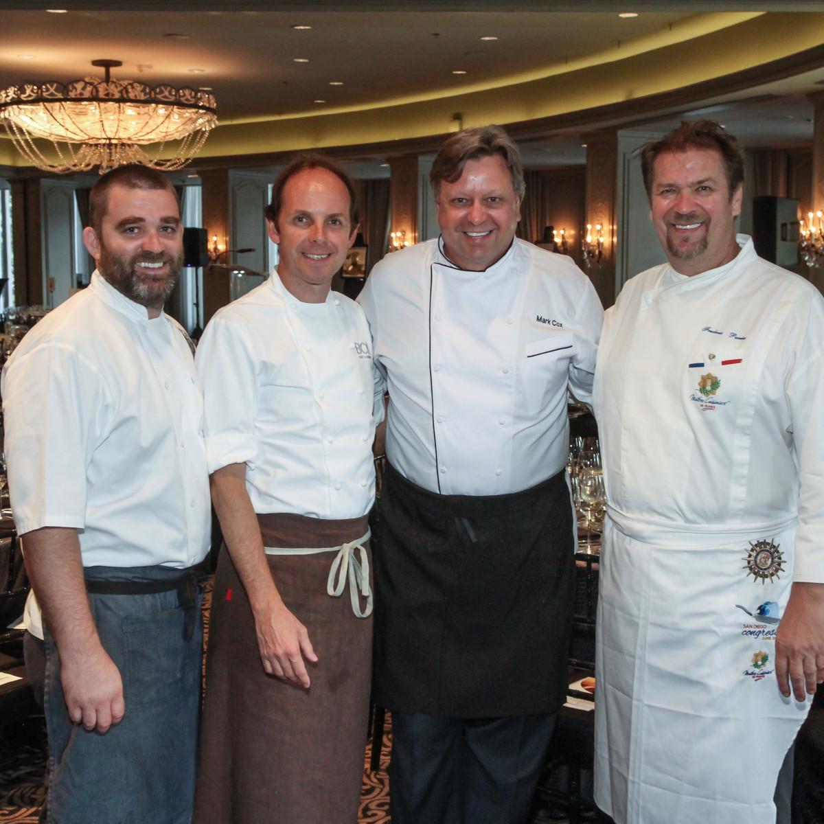 Best Cellars Wine Dinner/Bobby Matos, Luis Roger, Mark Cox, Frederic Perrier
