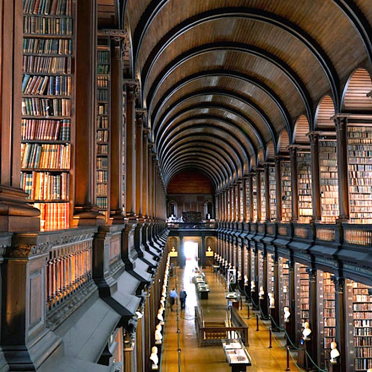 Houston, Trinity College Library, Dublin, Sept 2017