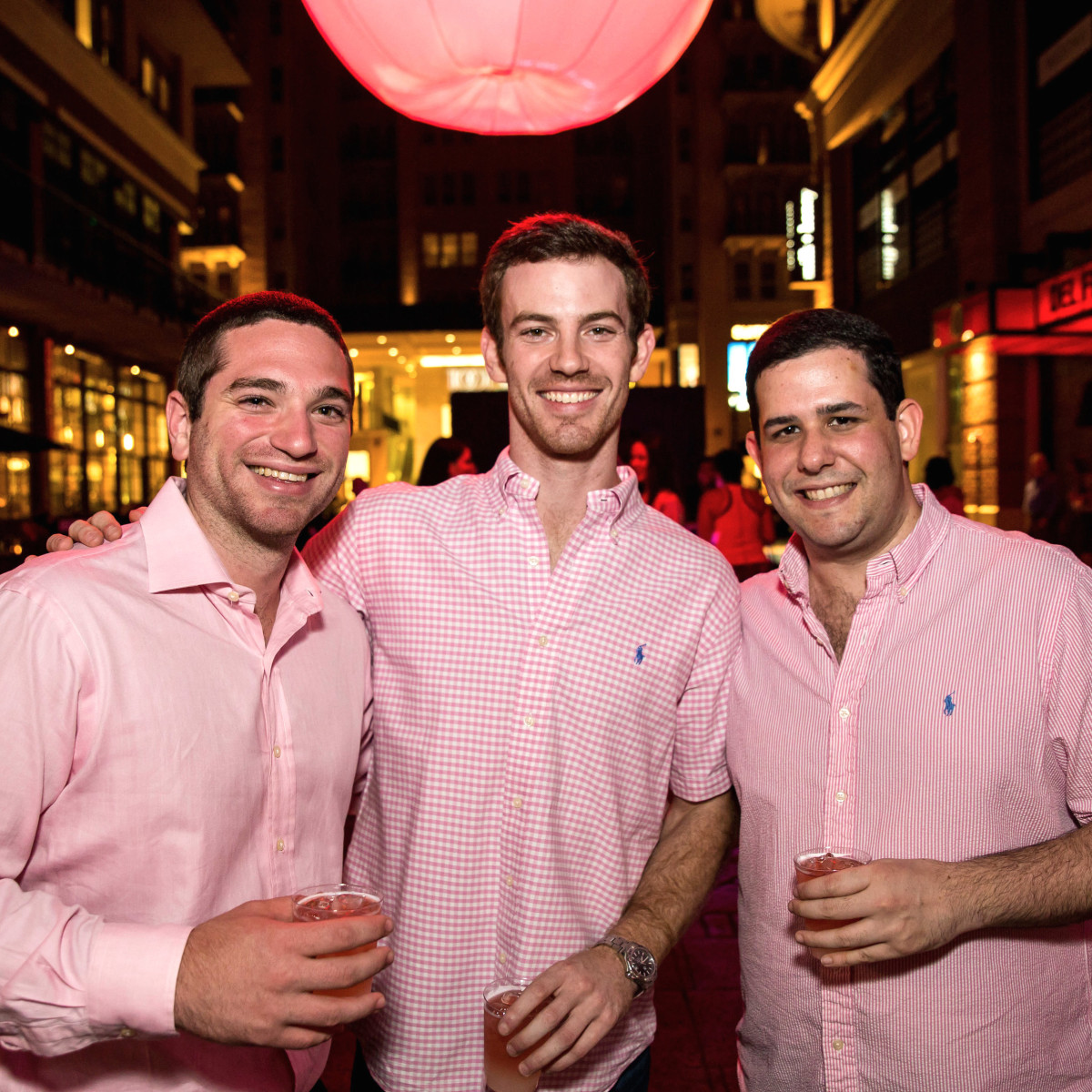 Houston, Marcy, West Ave Pink Party, October 2017, Jeffrey Davidoff, Zach Stoler, Michael Cohodes