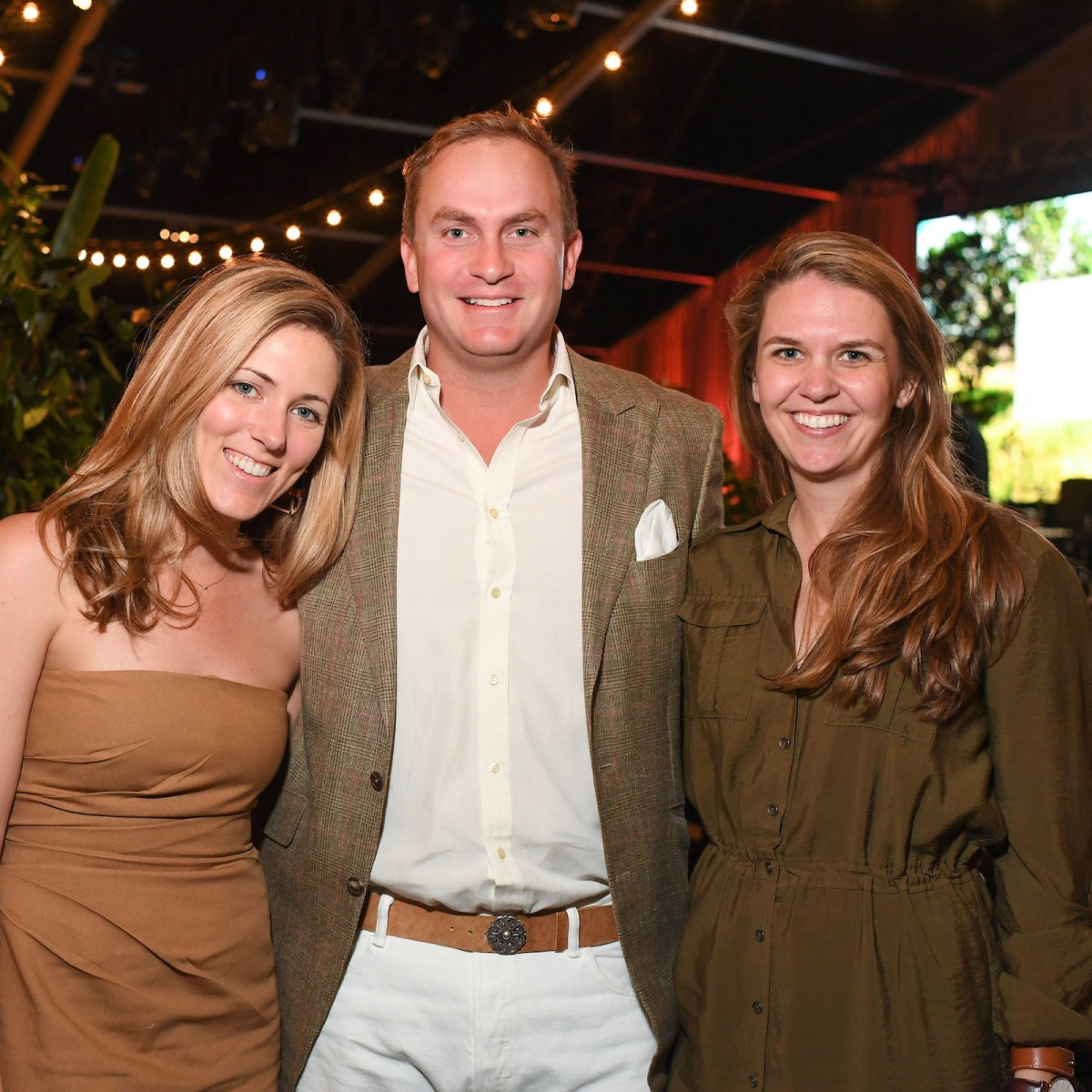 Lucie Harte, Rupert Gerard and Mandy Hixon at Nature Conservancy Gala