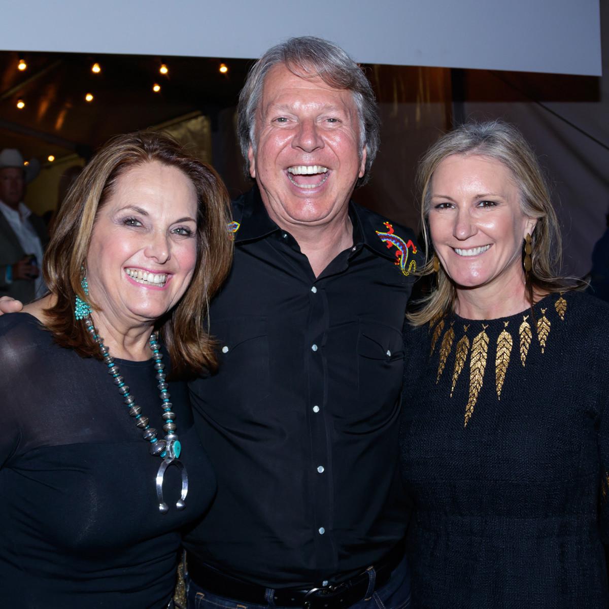 Ann Southerland, Dean Fearing, Wanda Gierhart, Cattle Barons 2017