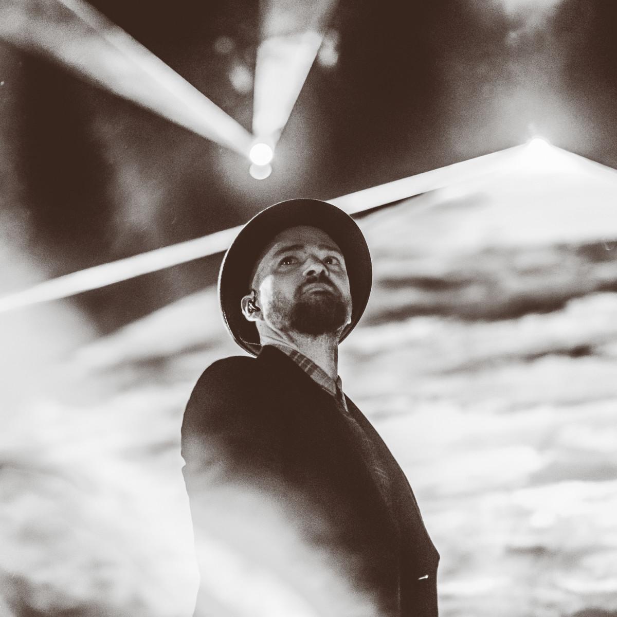 Justin Timberlake Stevie Wonder F1