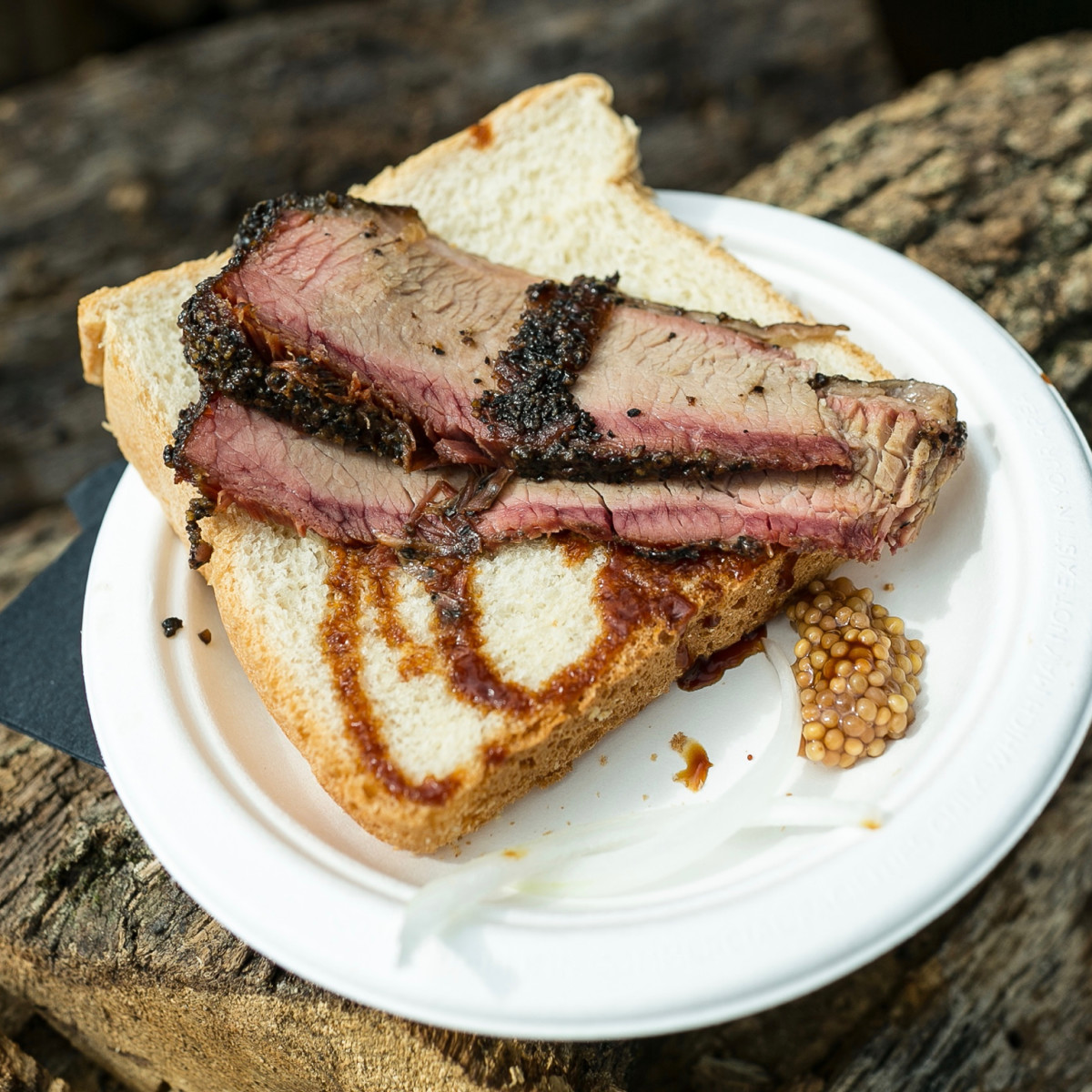 Southern Smoke 2017 Aaron Franklin barbecue brisket