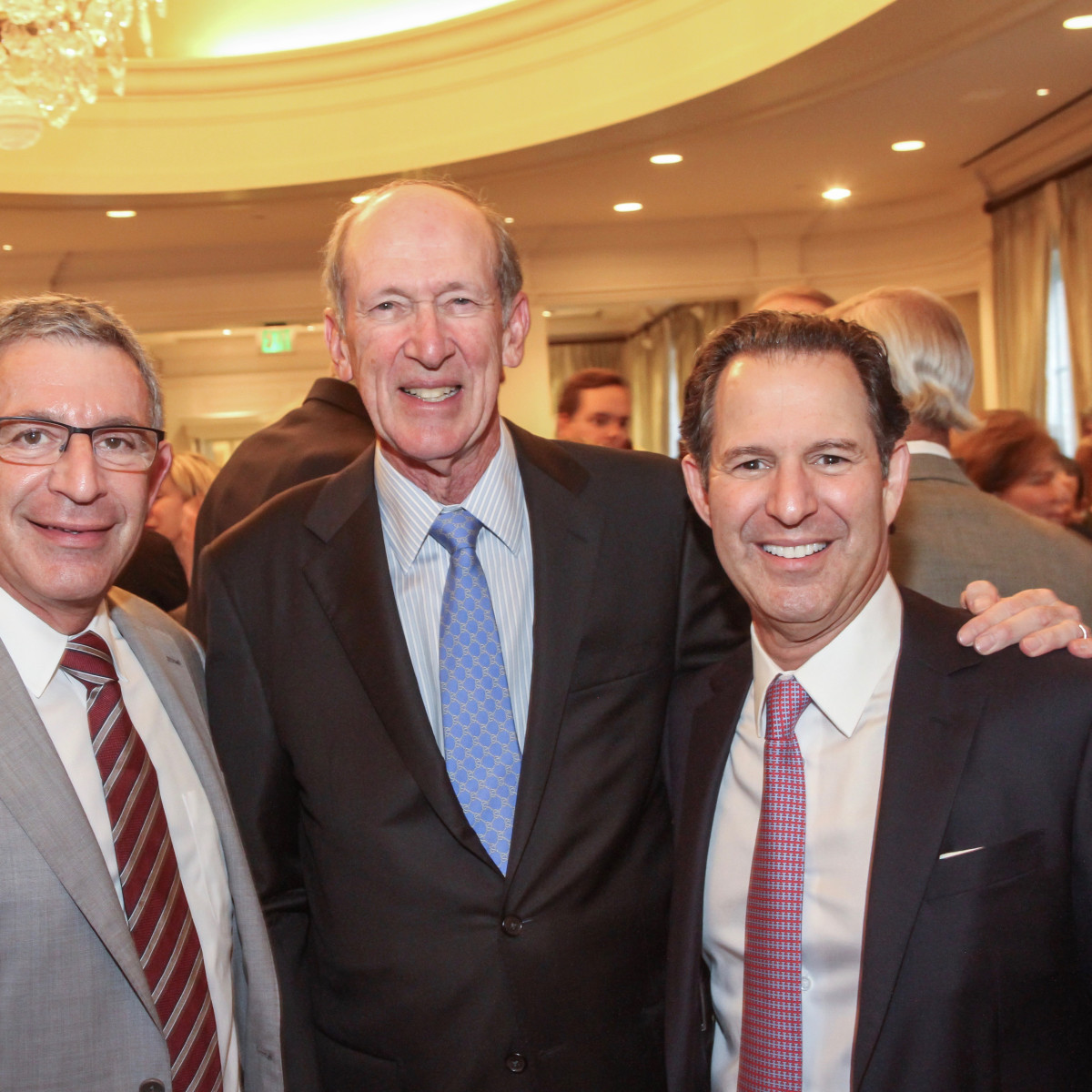 Jubilee of Caring/Dr Paul Klotman, Marc Shapiro and Kitch Taub