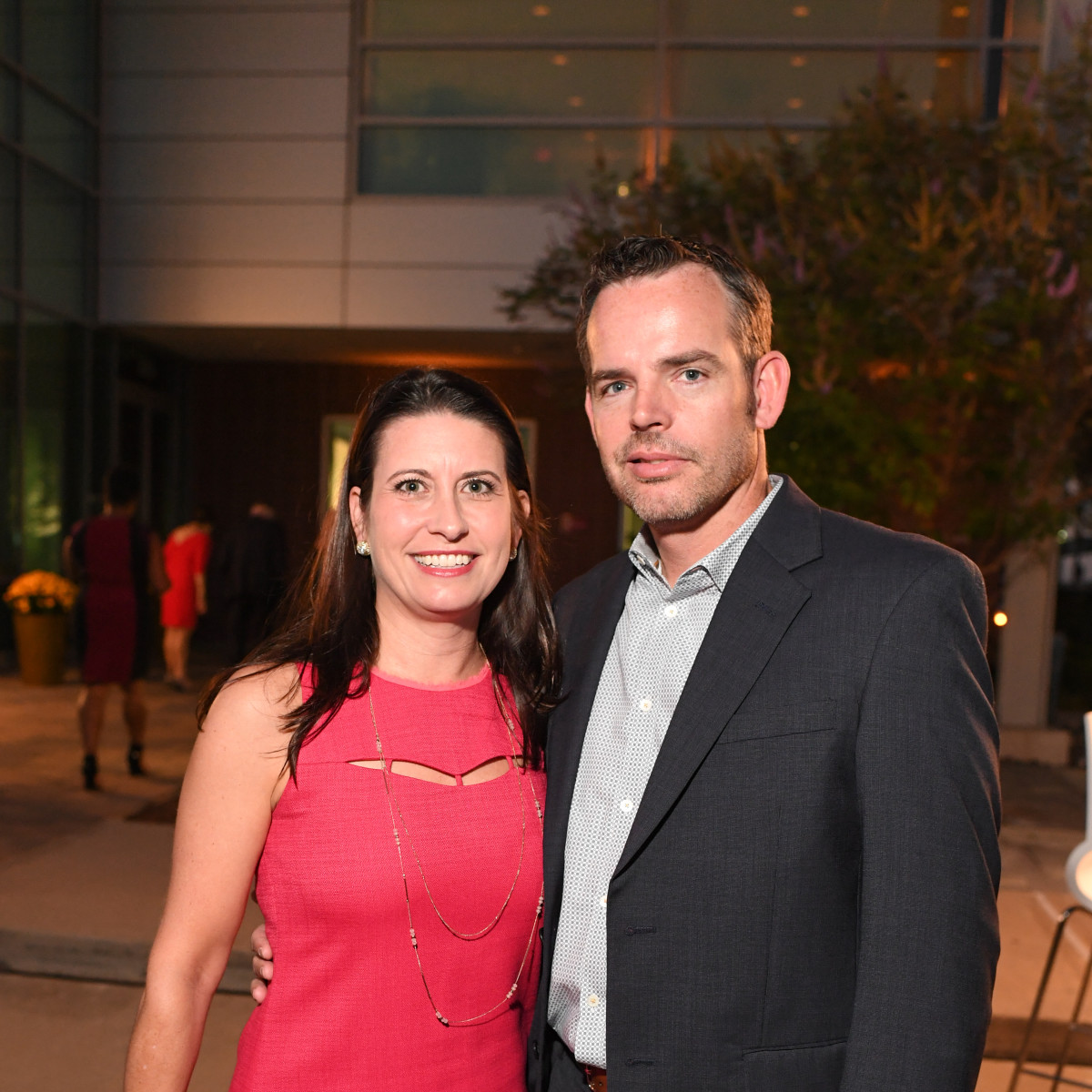 Kasey Dunn, Mark Dunn at Dress for Success Cuisine for a Cause