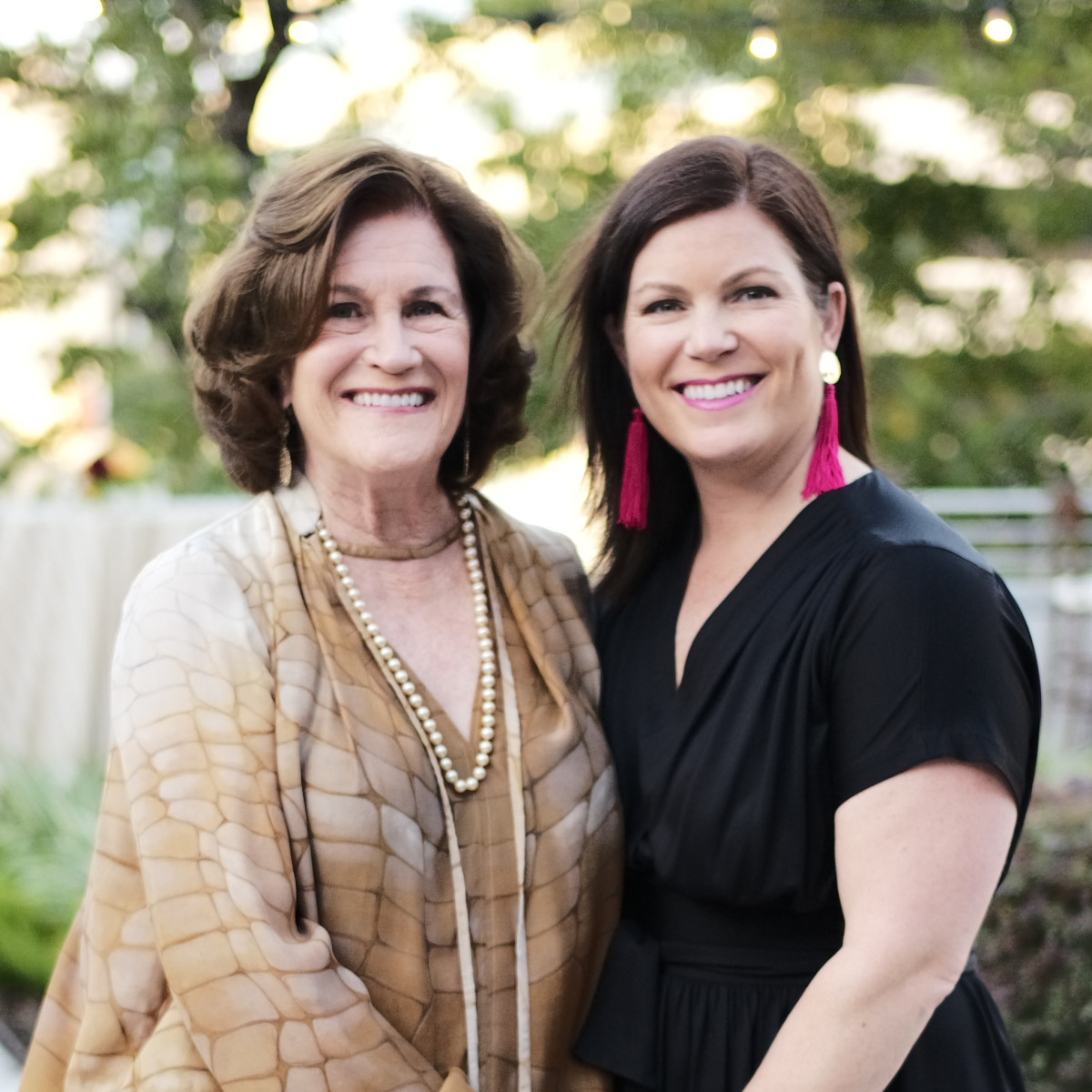 Nancy Levicki, Lauren Levicki Courville at Dress for Success Cuisine for a Cause