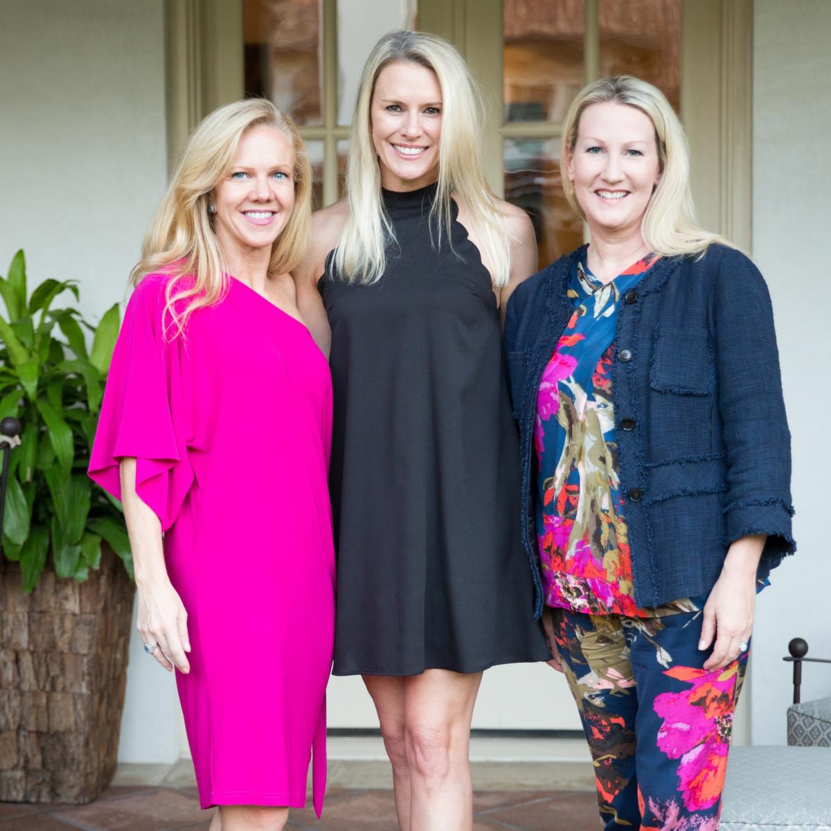 Kelly Perkins, Heather Randall, Lisa Singleton, Trailblazer