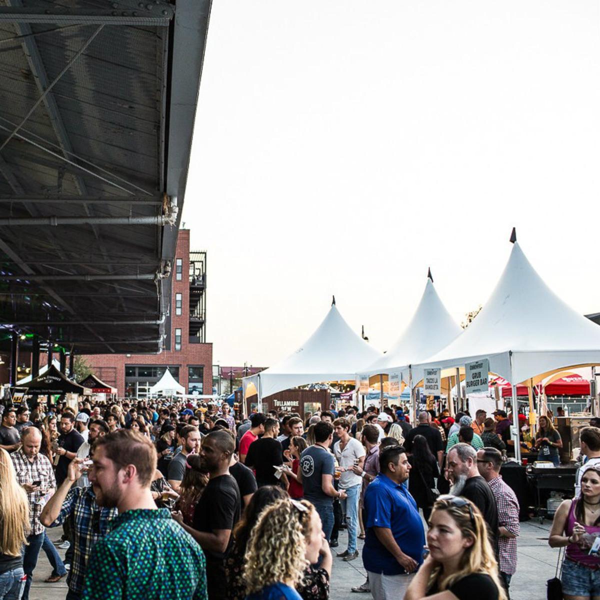 Dallas Brewfest at Dallas Farmers Market
