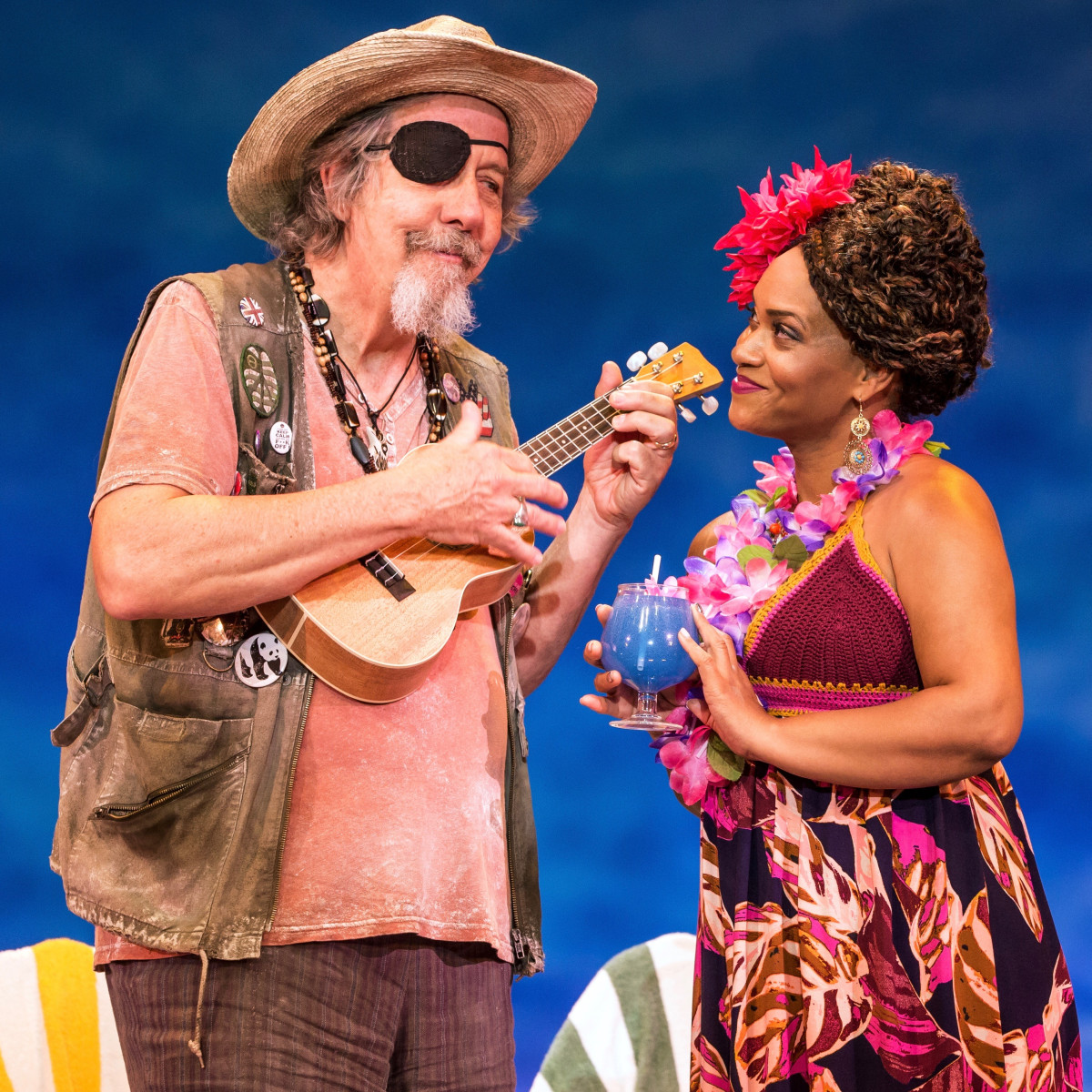 Escape to Margaritaville: Don Sparks, Rema Webb