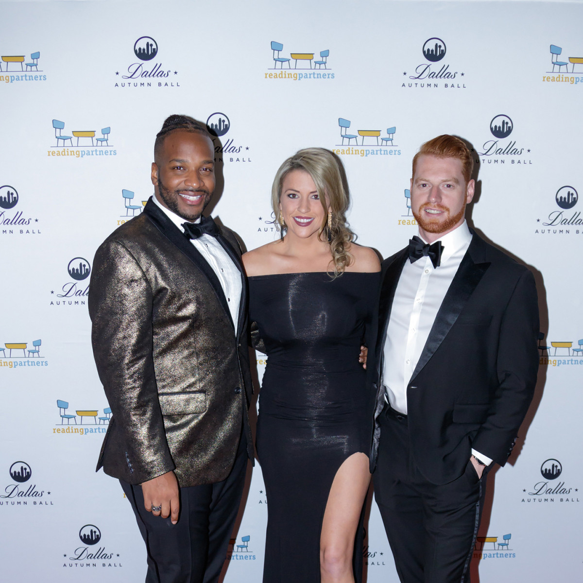 Fathay Smith, Ashley Powell, Lance Lenzen, Autumn Ball 2017