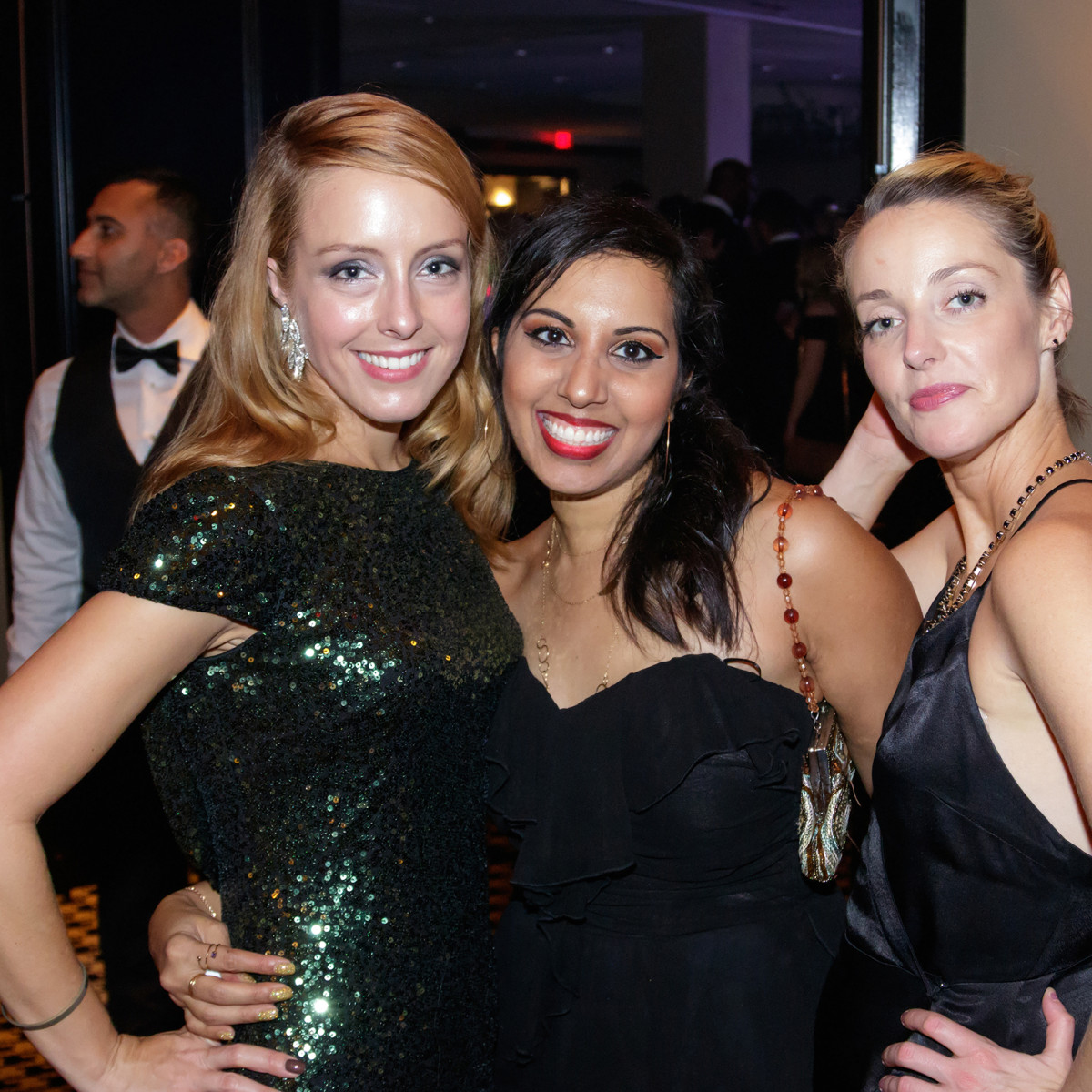 Jennifer Peterson, Seena Mathews, Kari Campiotti, Autumn Ball 2017