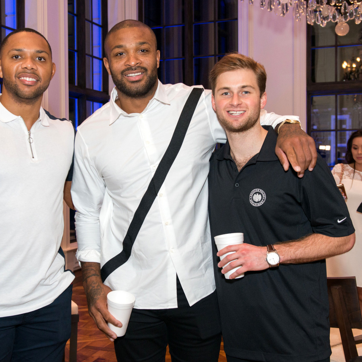 Houston, True Blue Gala, November 2017, Eric Gordon, P.J. Tucker, Patrick Fertitta