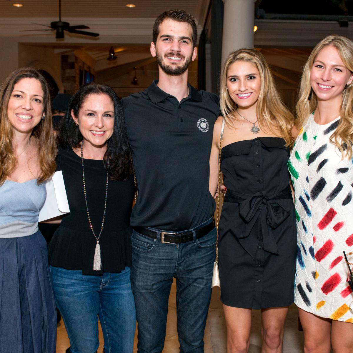 Houston, True Blue Gala, November 2017, Lauren Brownfield, Jessica Givens, Michael Fertitta, Meredith Knight, Carter Fitts