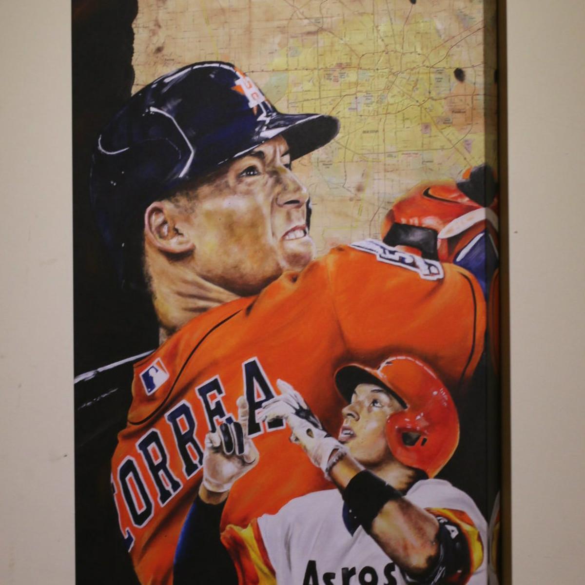 Carlos Correa painting