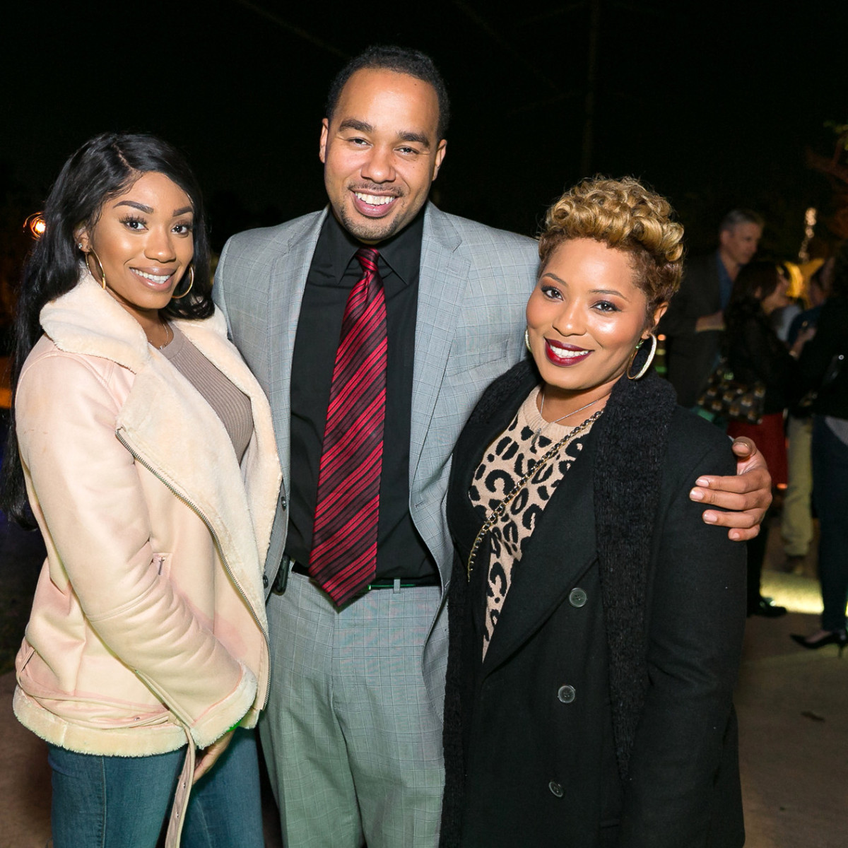 Houston, Memorial Park Bridge Bash, November 2017, Courtney Mobley, Julian Johnson, Charmaine Ollie