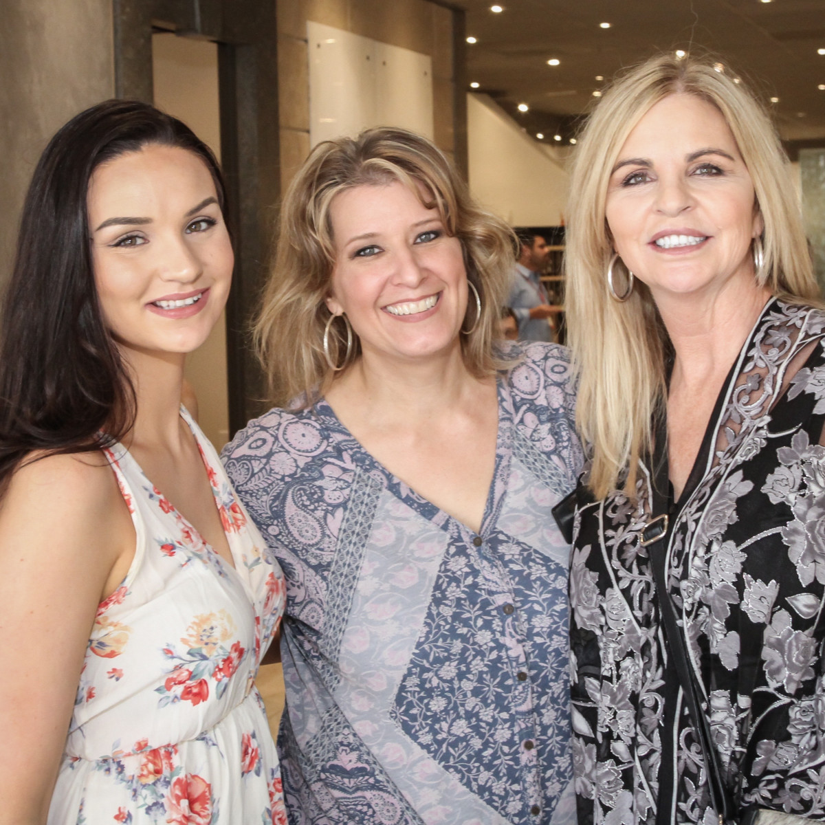 Hannah Johnson, Karen Yoder, Missy Stewart at Risotto Festival