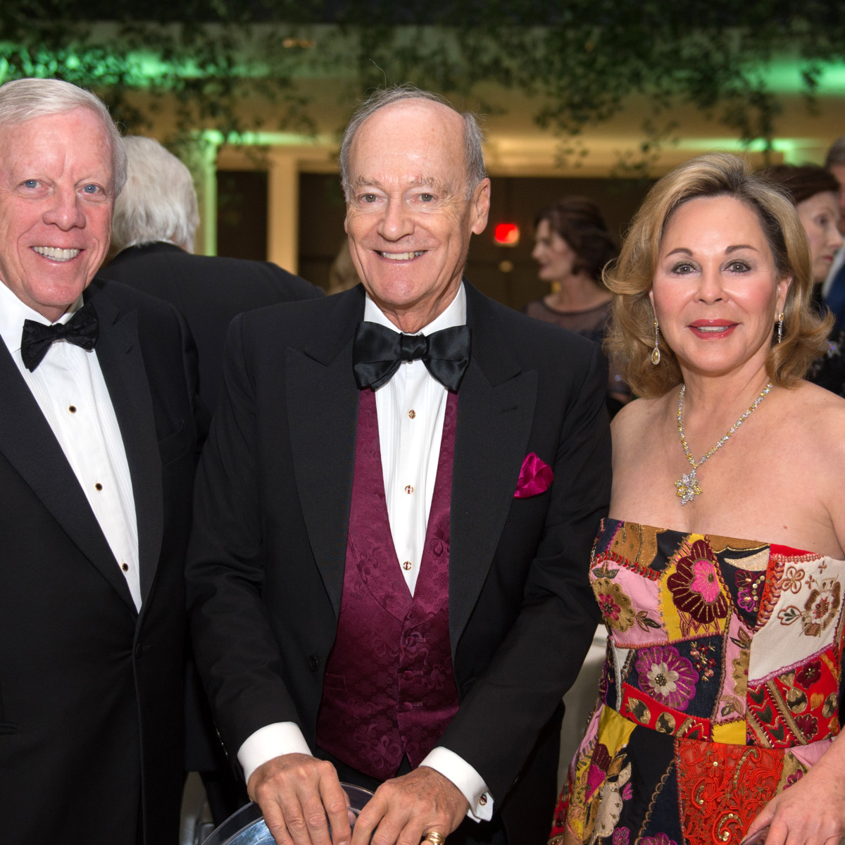 Houston, MFAH Art of the Islamic Worlds Gala, November 2017, Rich Kinder, Prince Amyn, Nancy Kinder