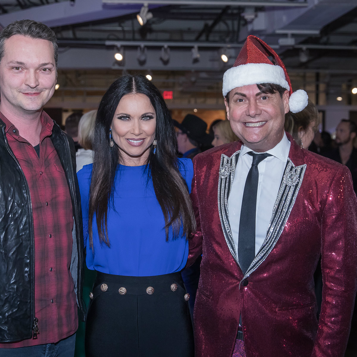 Chad Collom, LeeAnne Locken, Steve Kemble