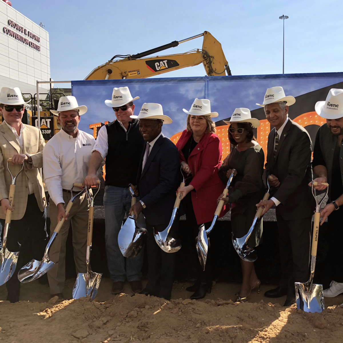 Houston, The Rustic groundbreaking, November 2017