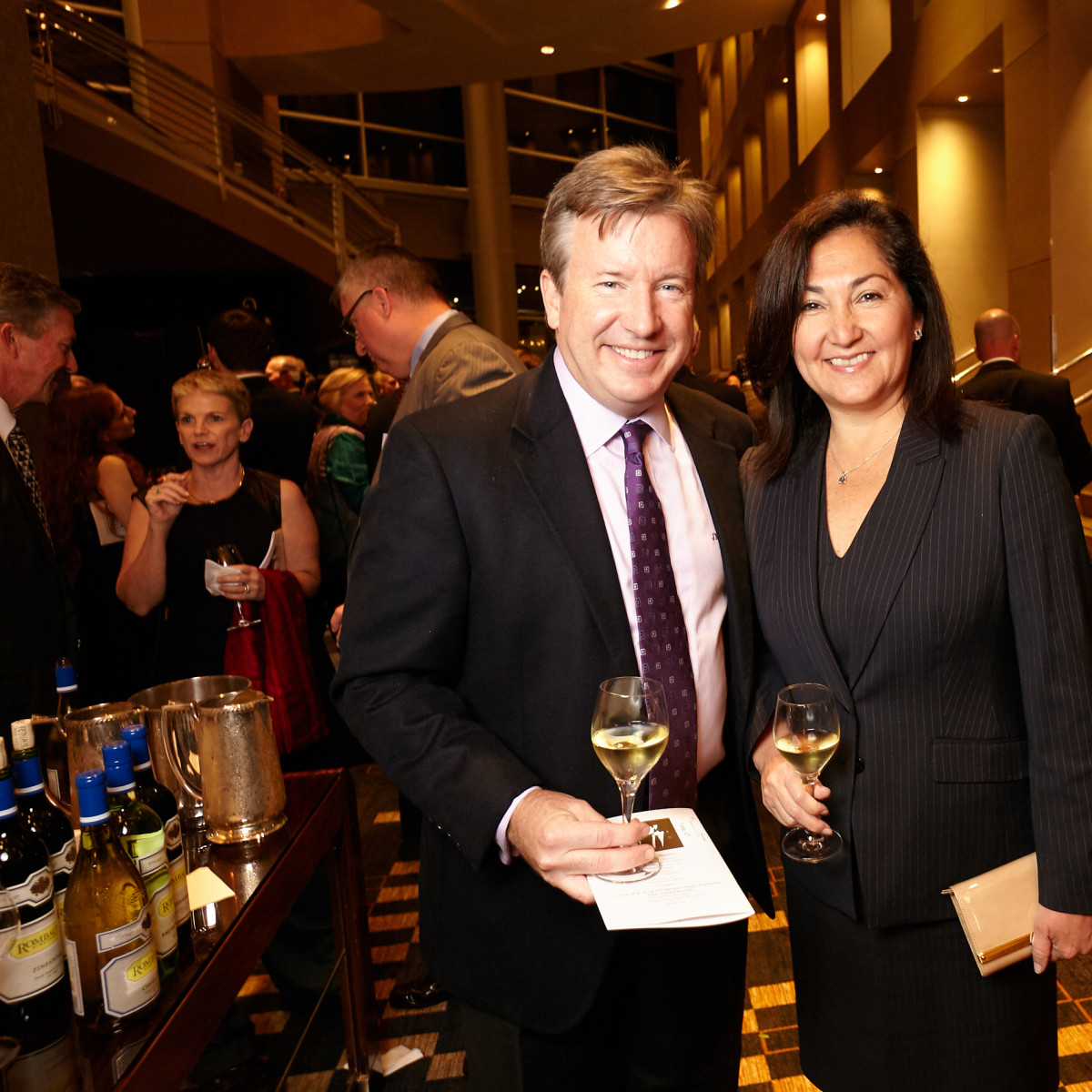 Houston, Bush Library Foundation dinner, November 2017, Paulina McGrath, Jim McGrath