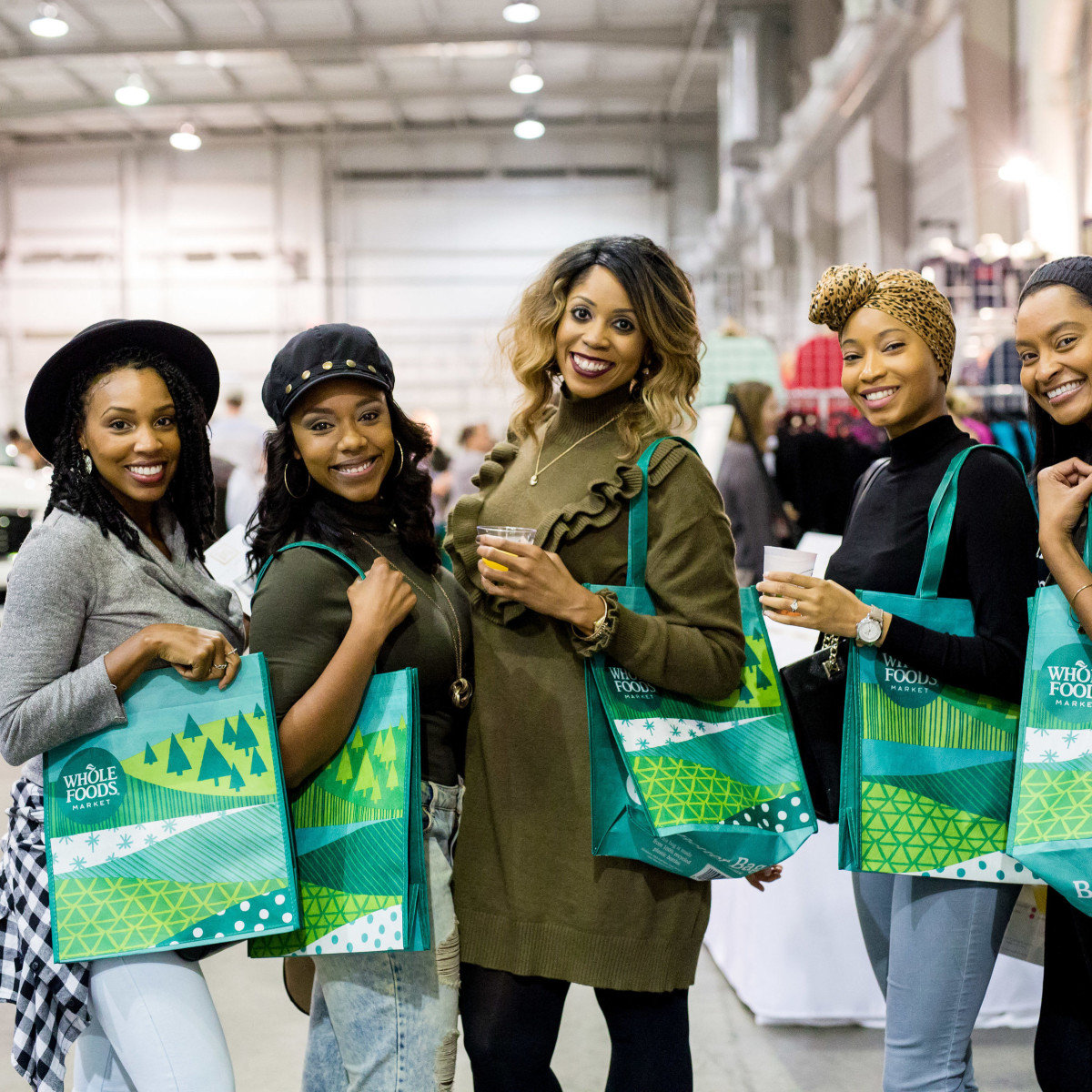 Houston, CultureMap Holiday Pop-Up Shop, November 2017, Jasmine Haynes, Deneige Broom, Creshema Murray, Ebony Fondren, Cindy Carter