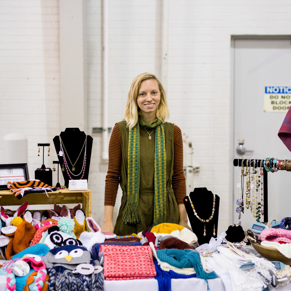 Houston, CultureMap Holiday Pop-Up Shop, November 2017, The Community Cloth, Kaila Lewis