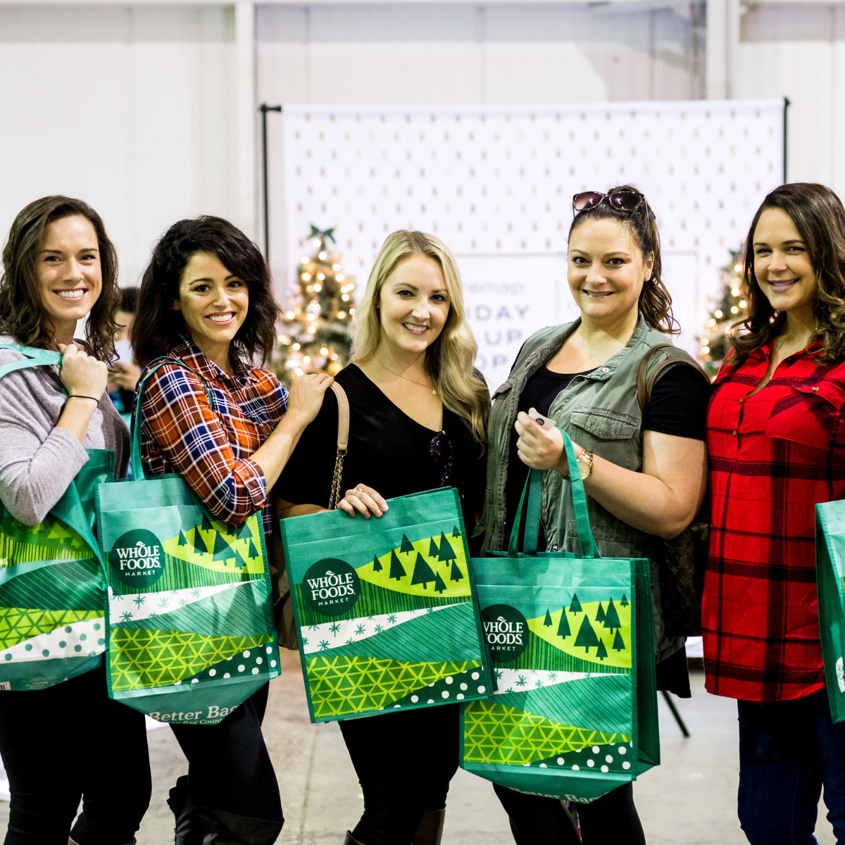 Houston, CultureMap Holiday Pop-Up Shop, November 2017, Kate Cammarata, Rachel Tillman, Kristina Anderson, Jennifer Anderson, Amber Bradley
