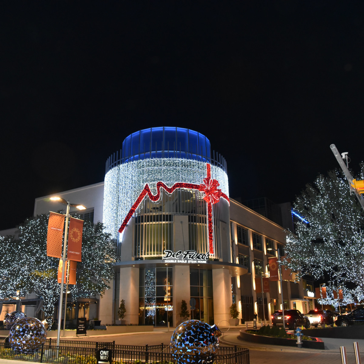 Legacy West holiday decorations