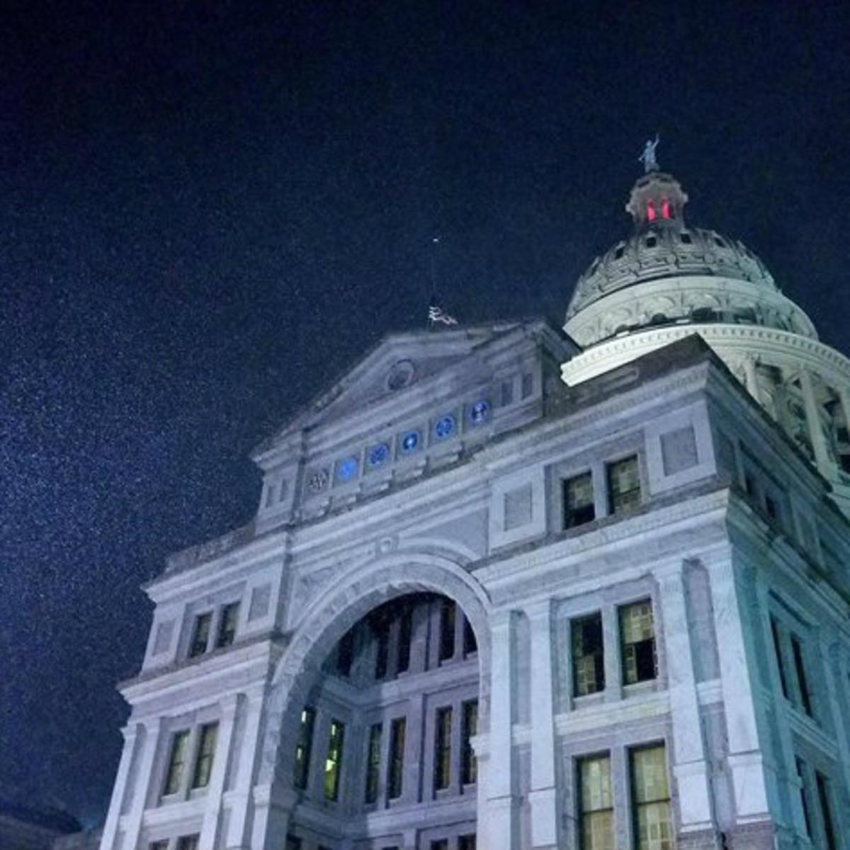 Austin snowfall